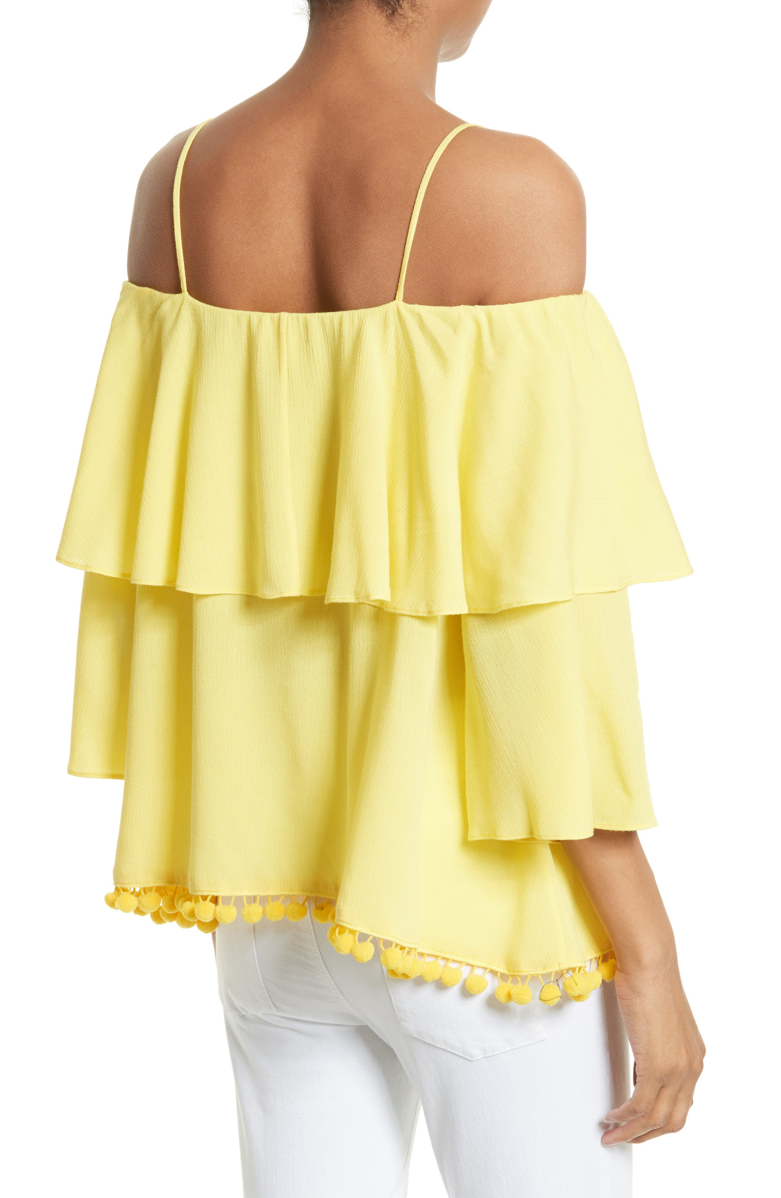 Alternate Image 2  - Alice + Olivia Meagan Tiered Blouse