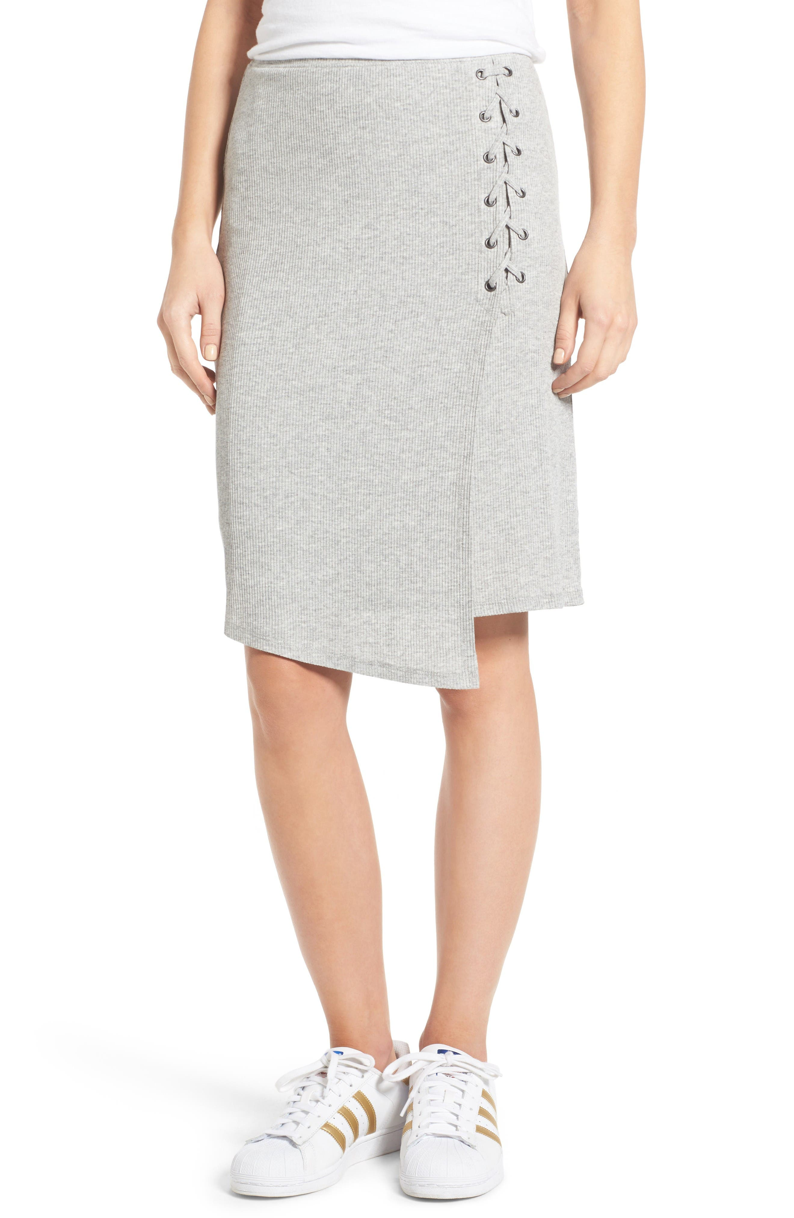 Splendid Rib Knit Skirt