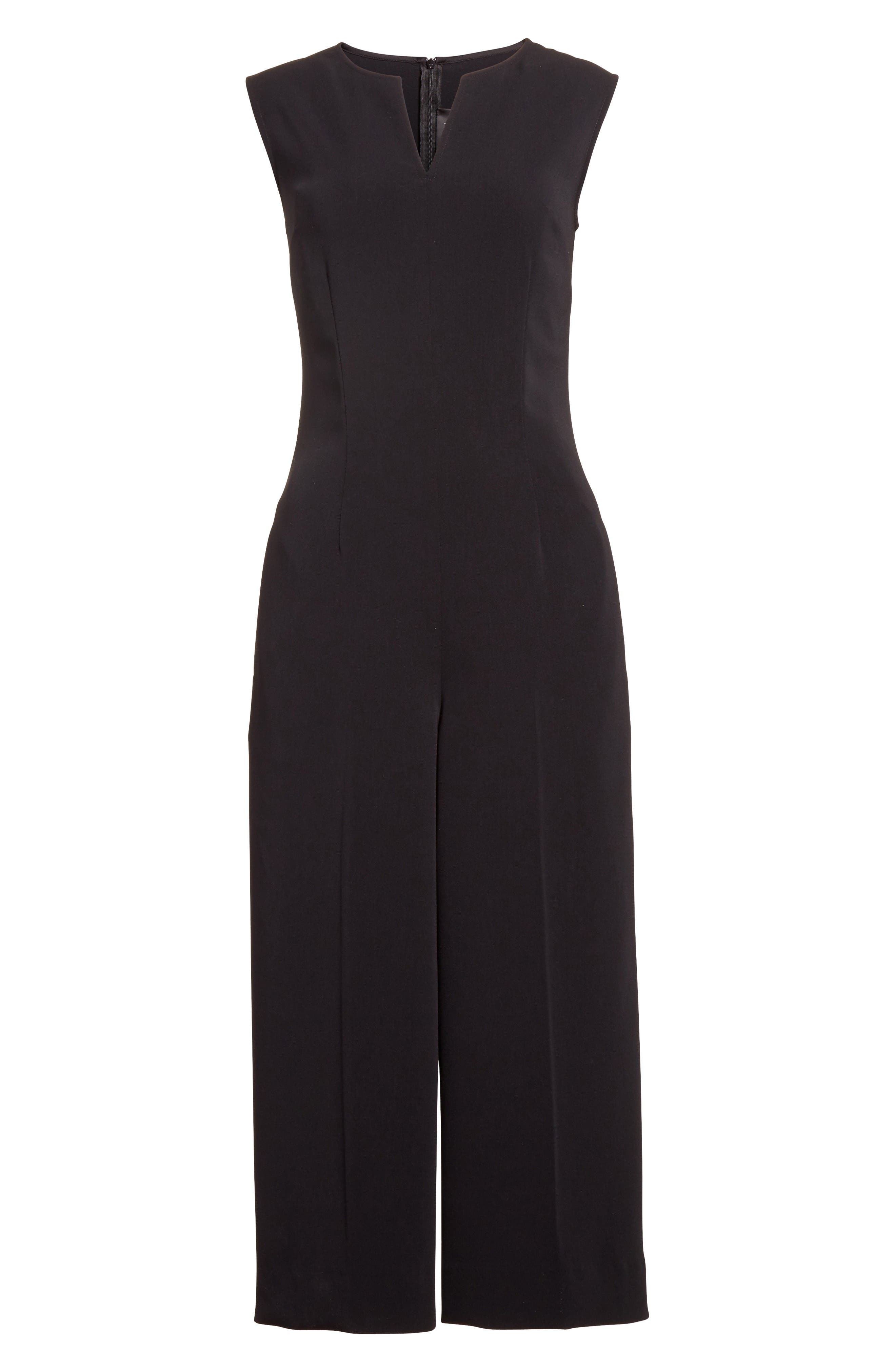 Alternate Image 6  - St. John Collection Classic Stretch Cady Jumpsuit