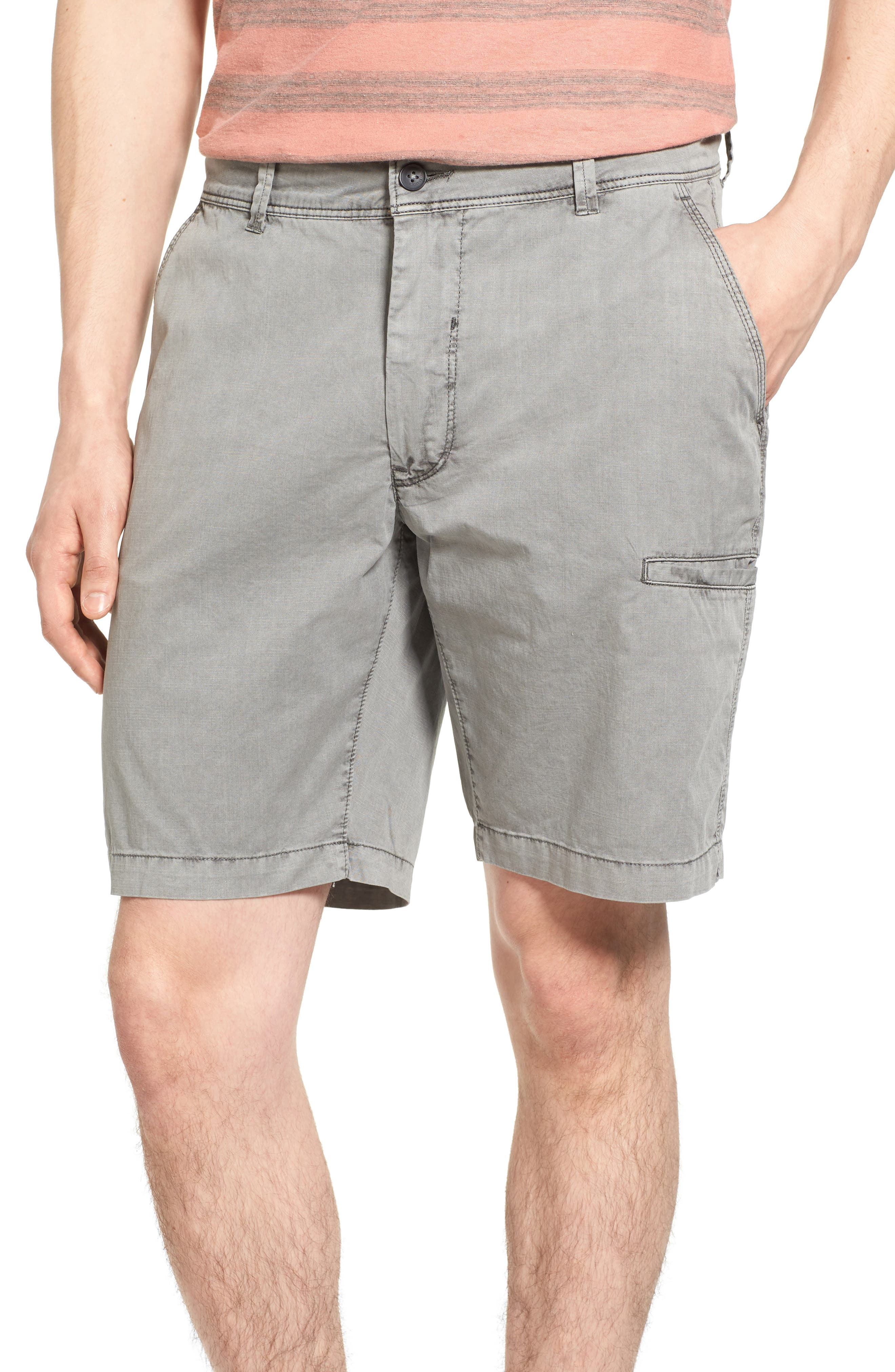 Main Image - Jeremiah Merrill Pigment Slub Poplin Shorts