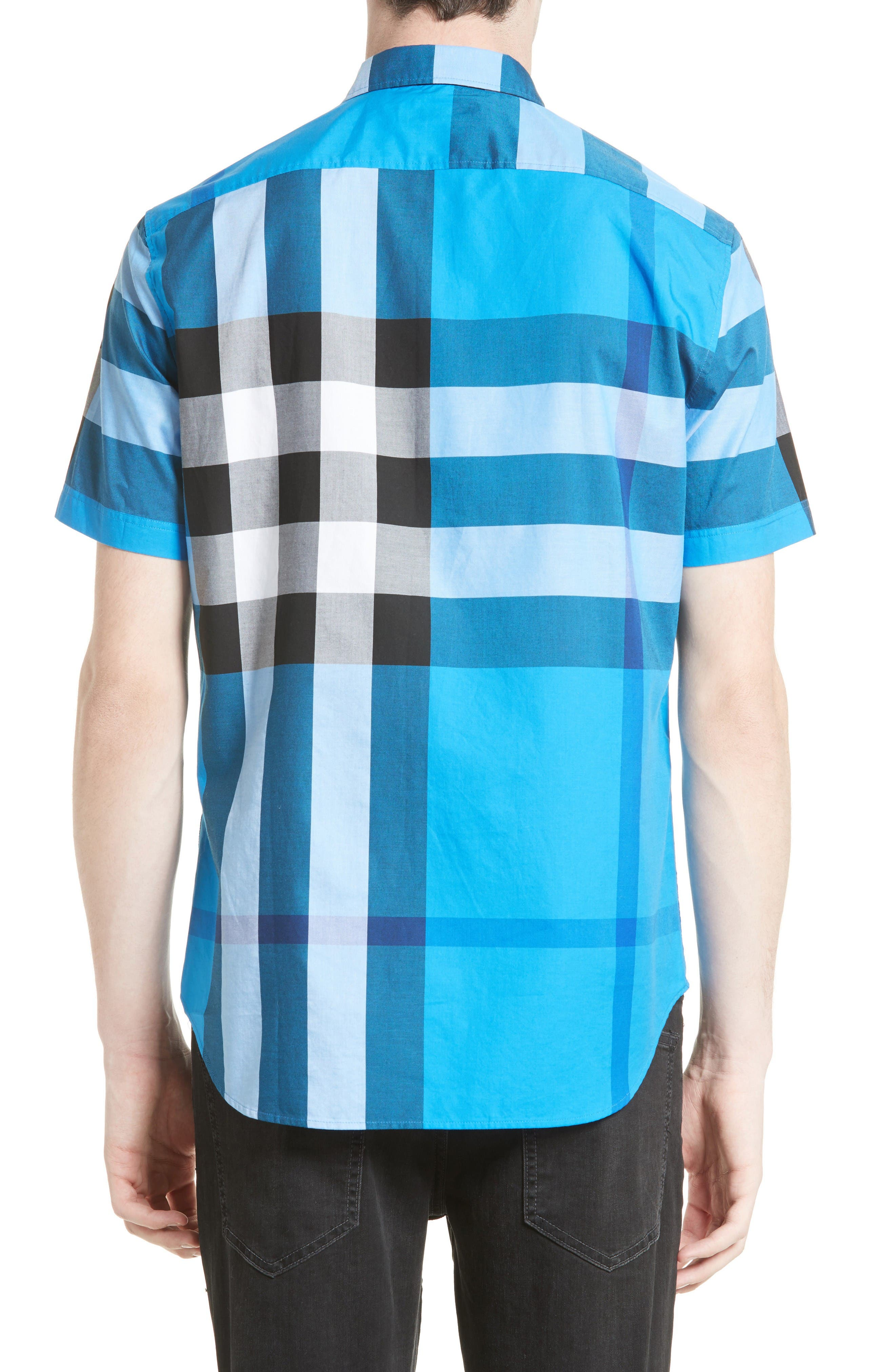 Alternate Image 2  - Burberry Fred Check Sport Shirt