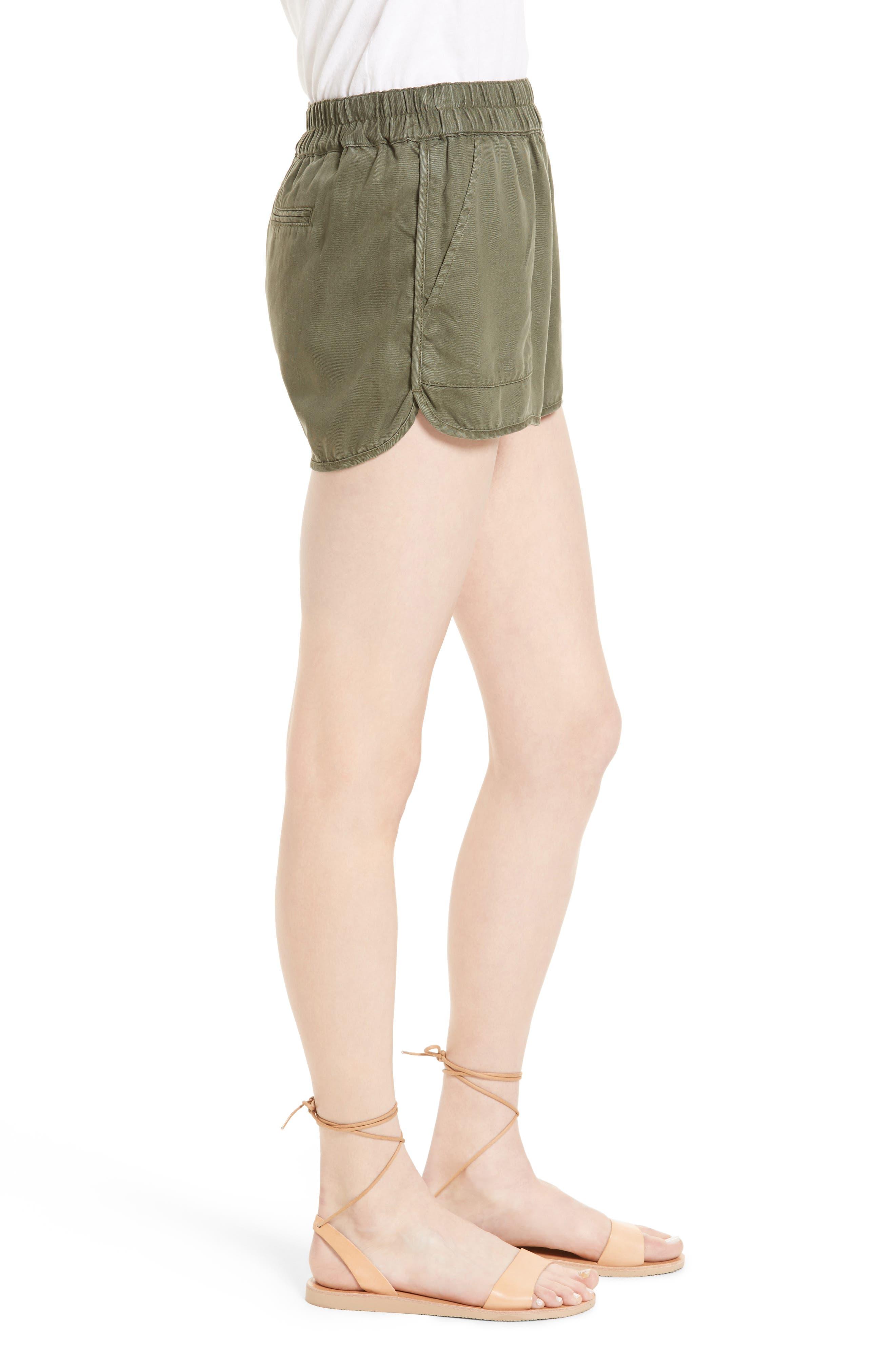 Alternate Image 3  - Soft Joie Delavina Tencel® Twill Shorts