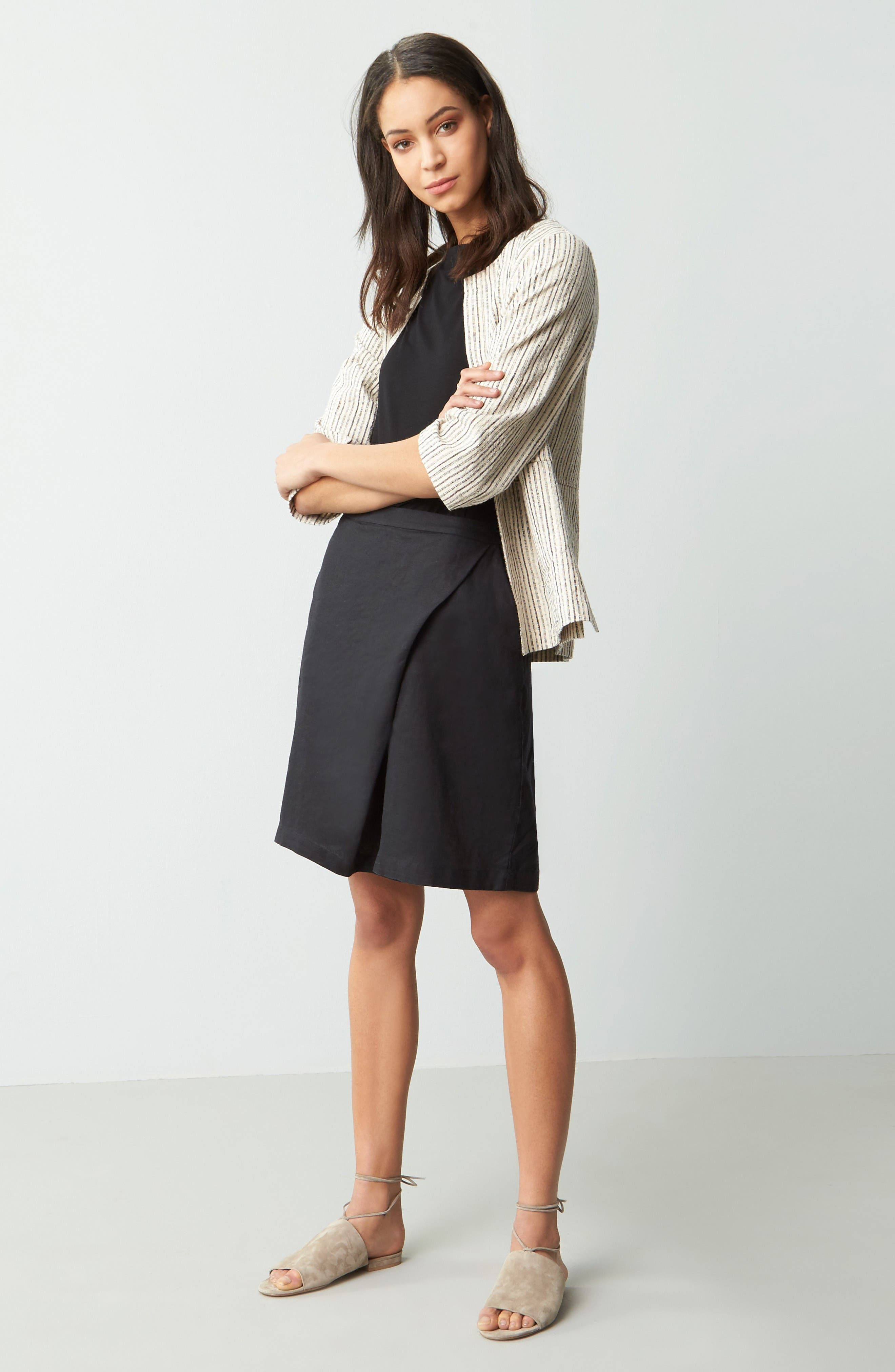 Alternate Image 2  - Eileen Fisher Organic Linen Sarong Shorts (Nordstrom Exclusive)