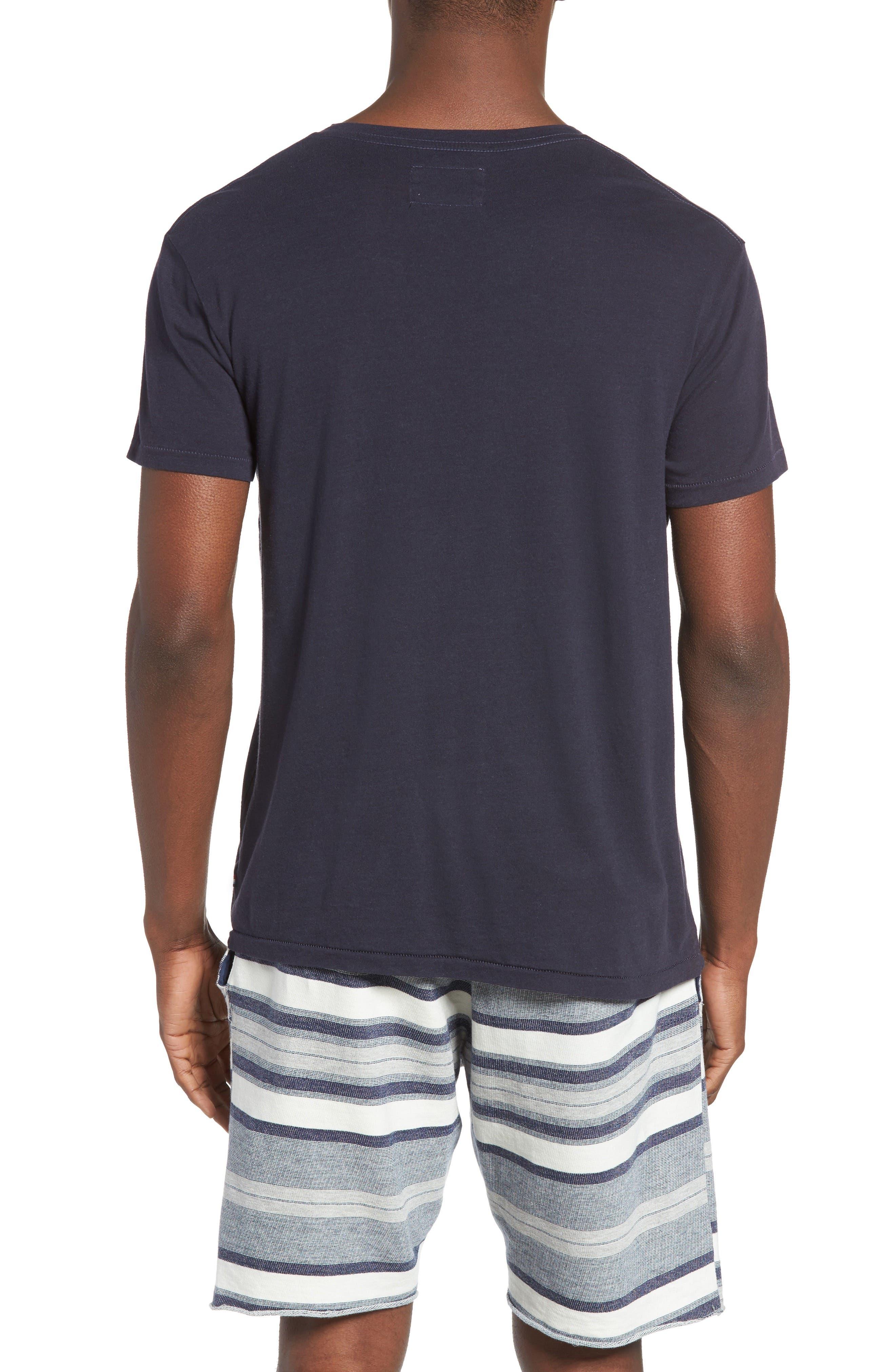 Alternate Image 2  - Sol Angeles Essential V-Neck T-Shirt