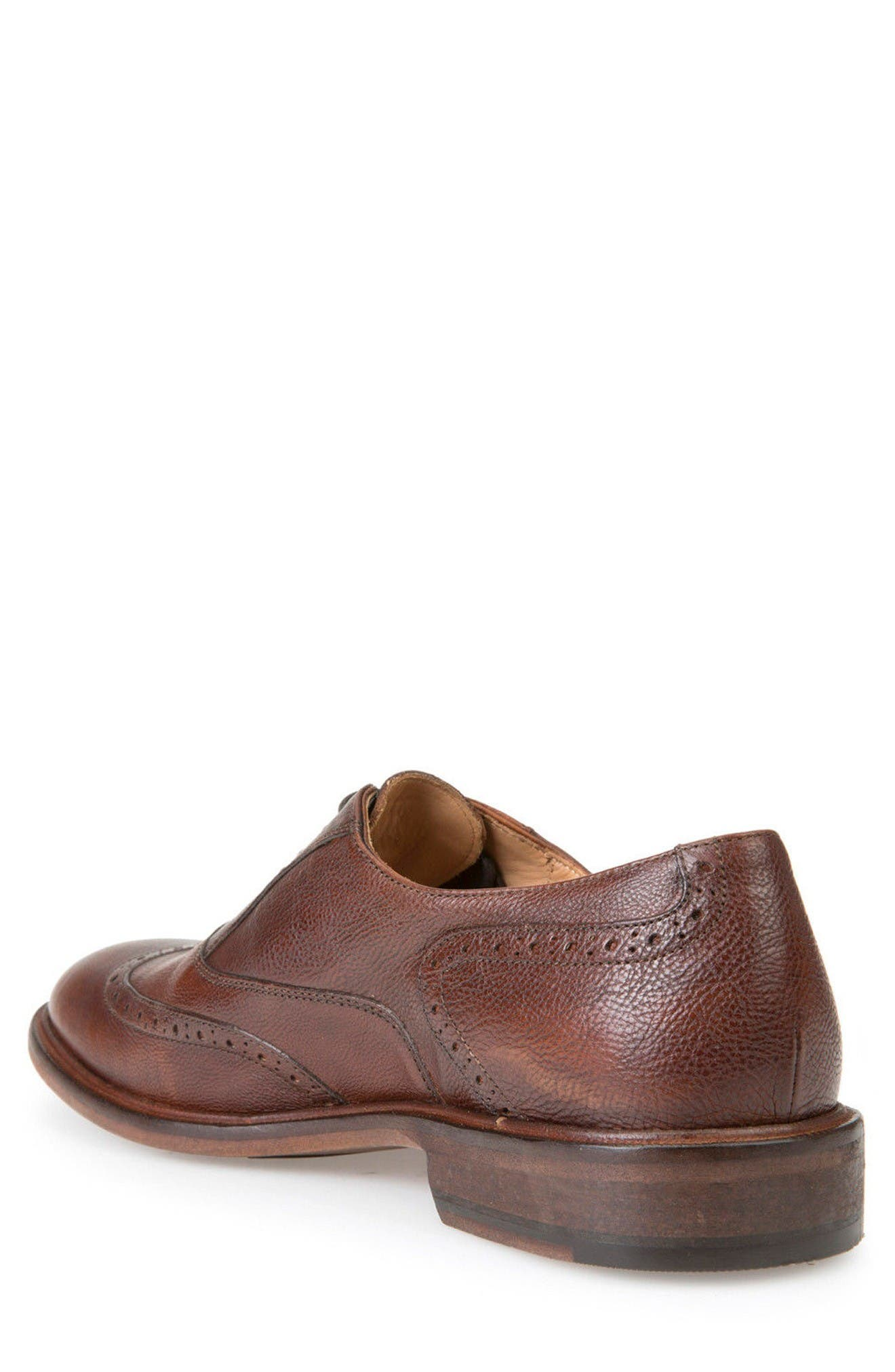 Guildford 9 Wingtip,                             Alternate thumbnail 2, color,                             Brown Leather
