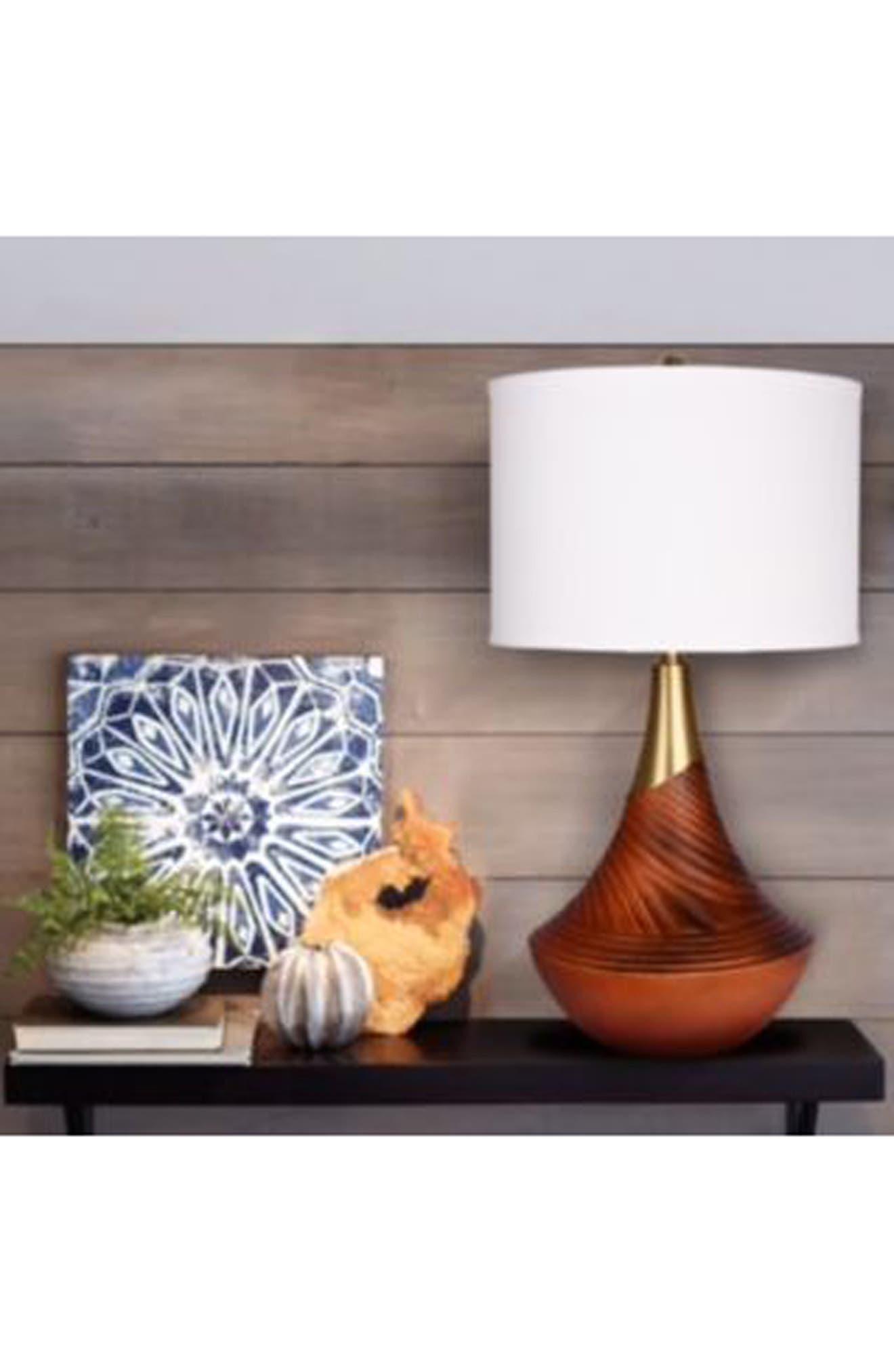 Alternate Image 2  - JAlexander Cora Resin Table Lamp