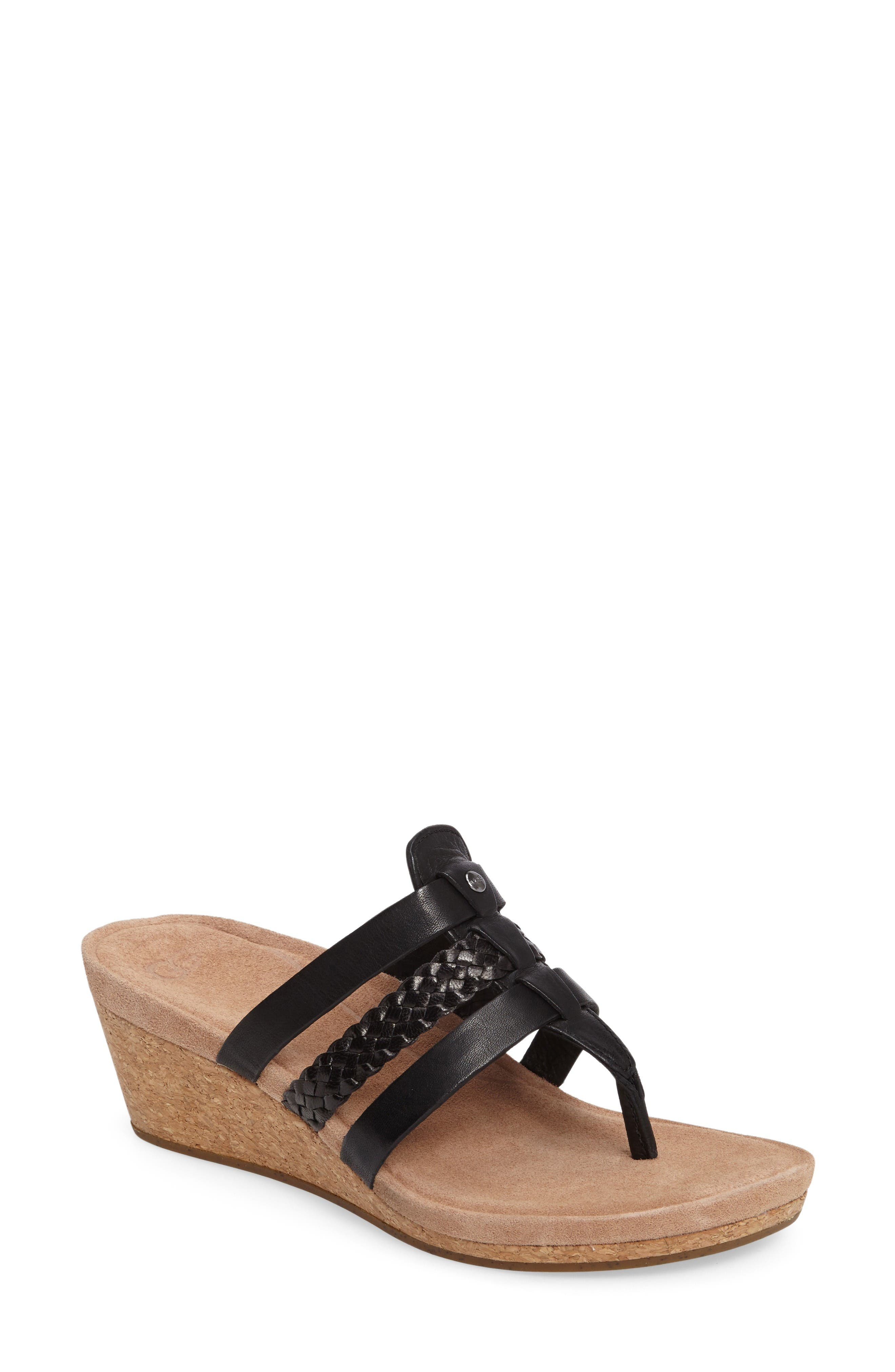 UGG® Maddie Wedge Sandal (Women)