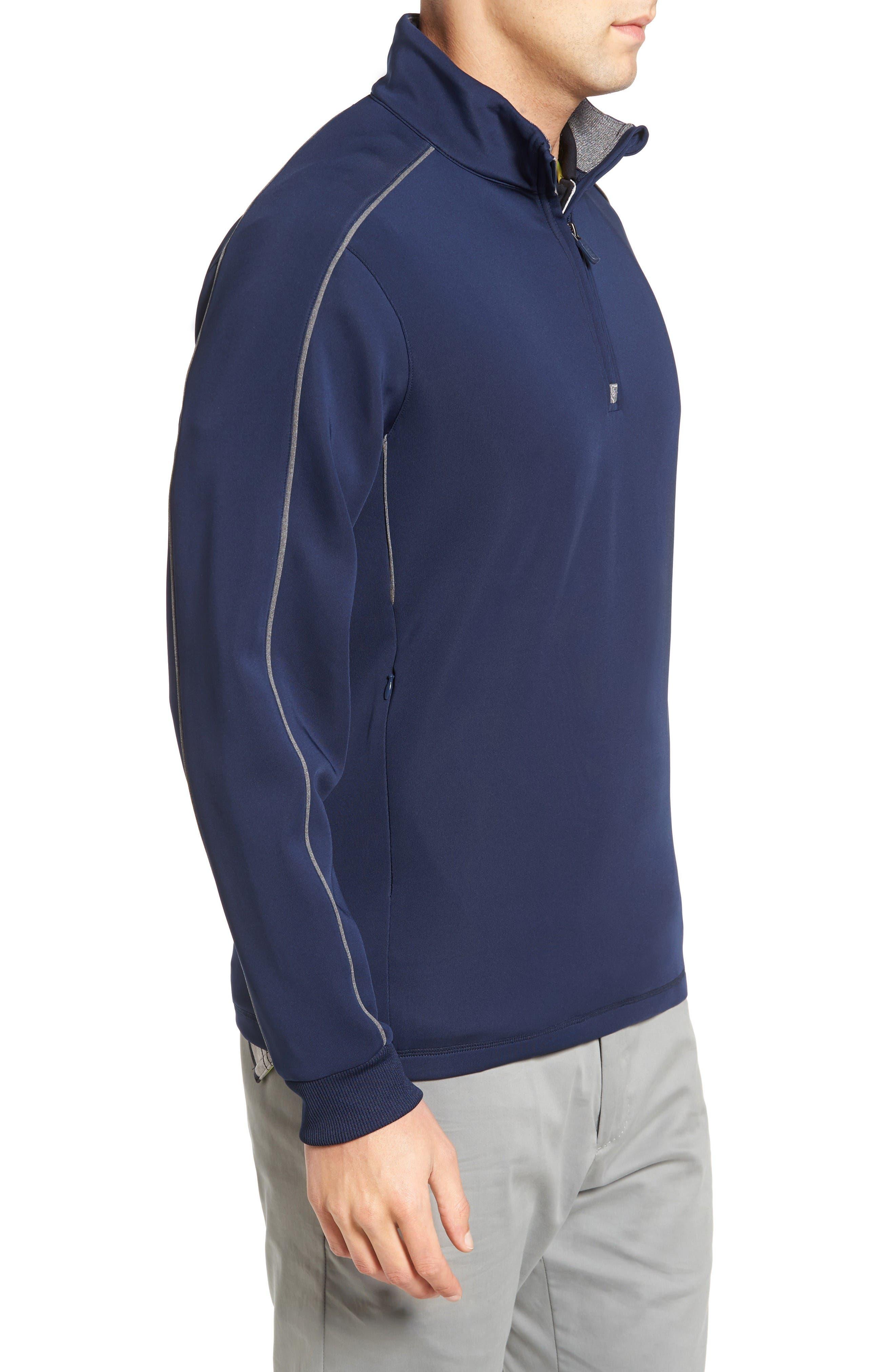Alternate Image 3  - Bobby Jones Tech Quarter Zip Pullover