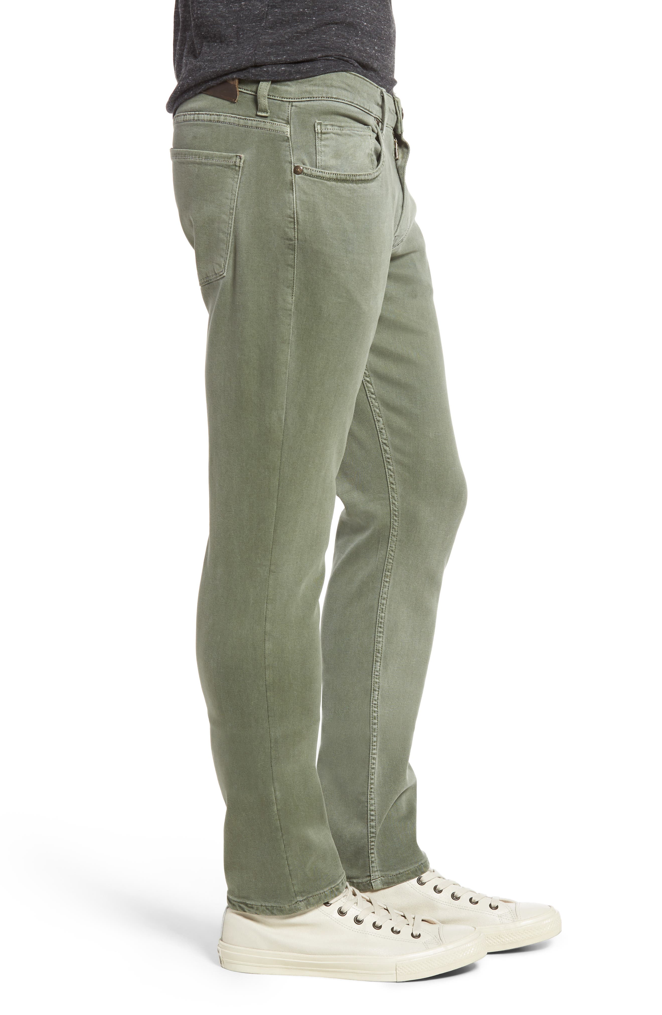 Alternate Image 3  - PAIGE Transcend - Lennox Slim Fit Jeans (Greenhouse)