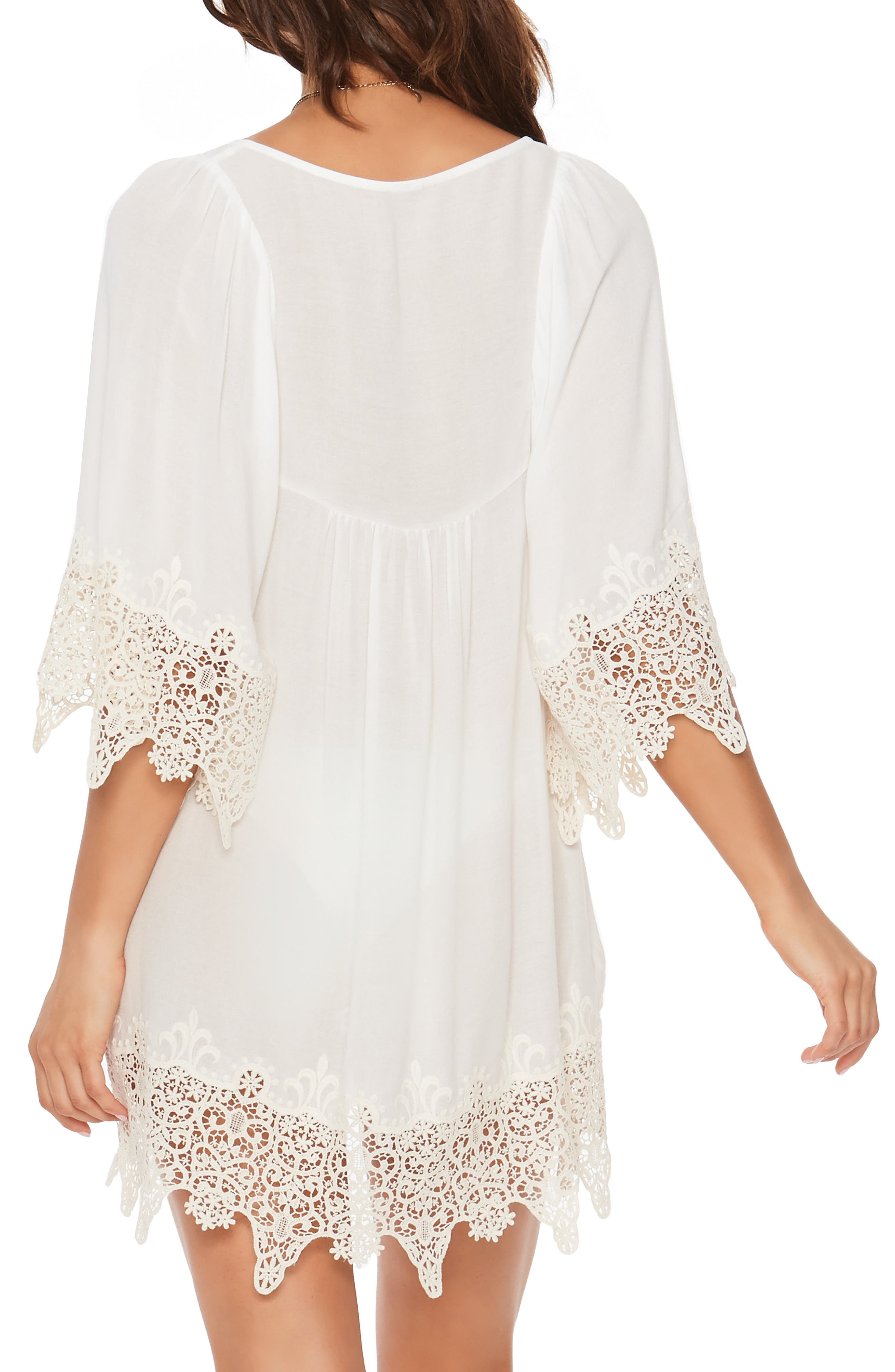 Alternate Image 2  - L Space Lace Cover-Up Tunic