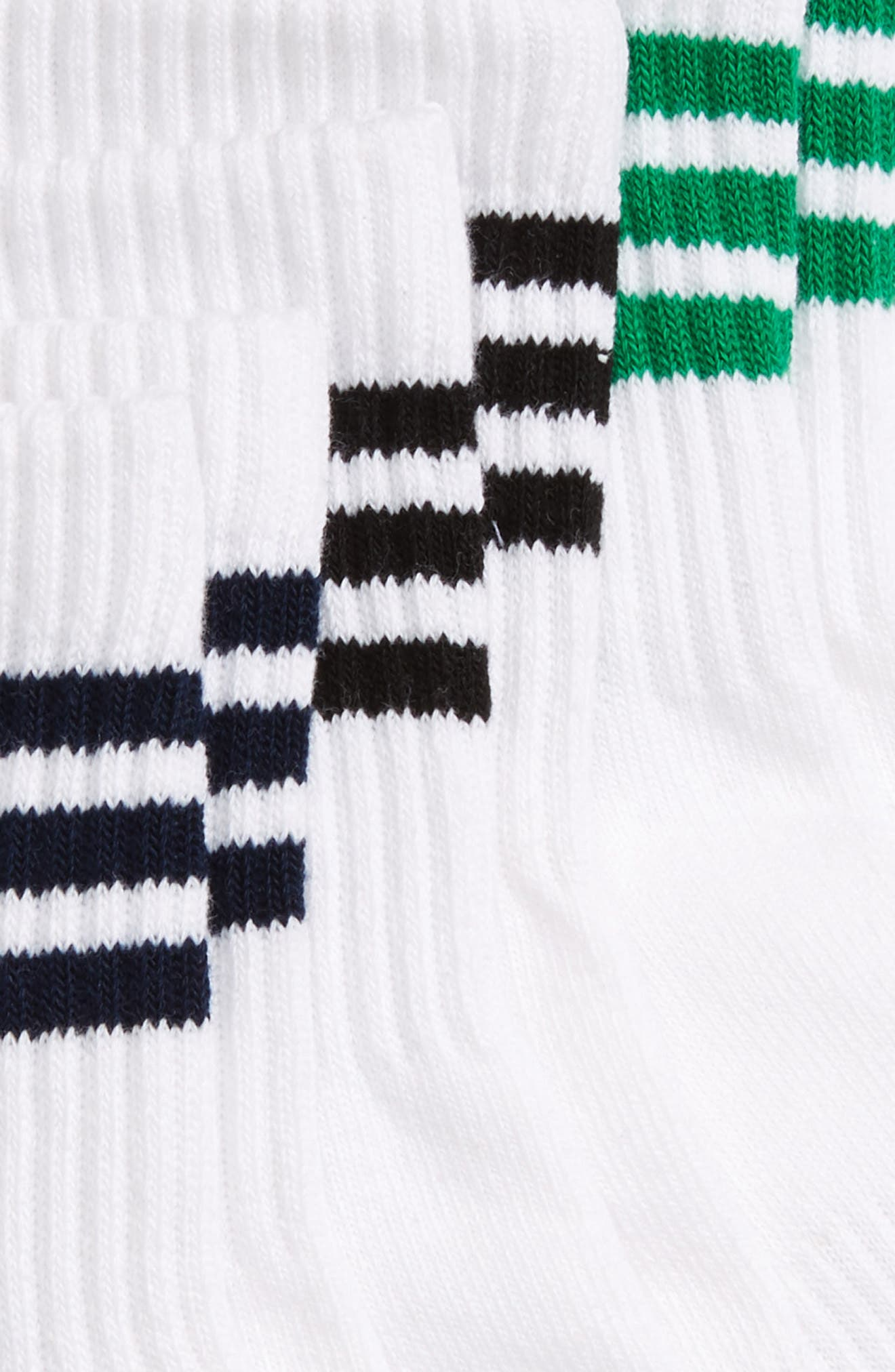 Alternate Image 2  - adidas Originals 3-Pack Quarter Crew Socks
