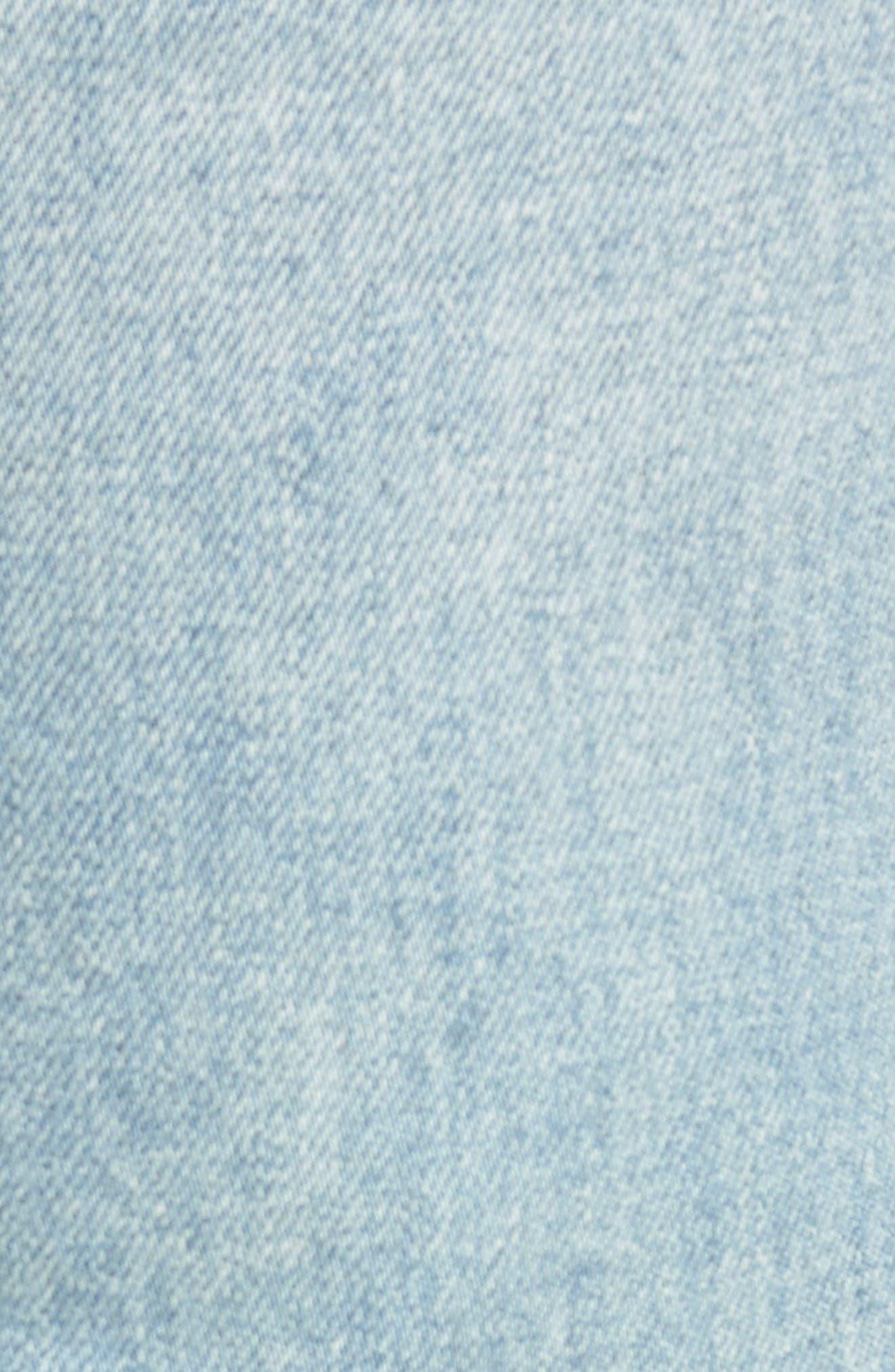 Castaway Slim Fit Jeans,                             Alternate thumbnail 5, color,                             Bleached Vintage Wash