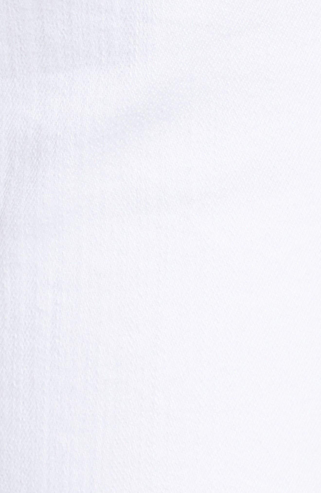 Prima Cigarette Leg Skinny Jeans,                             Alternate thumbnail 5, color,                             White