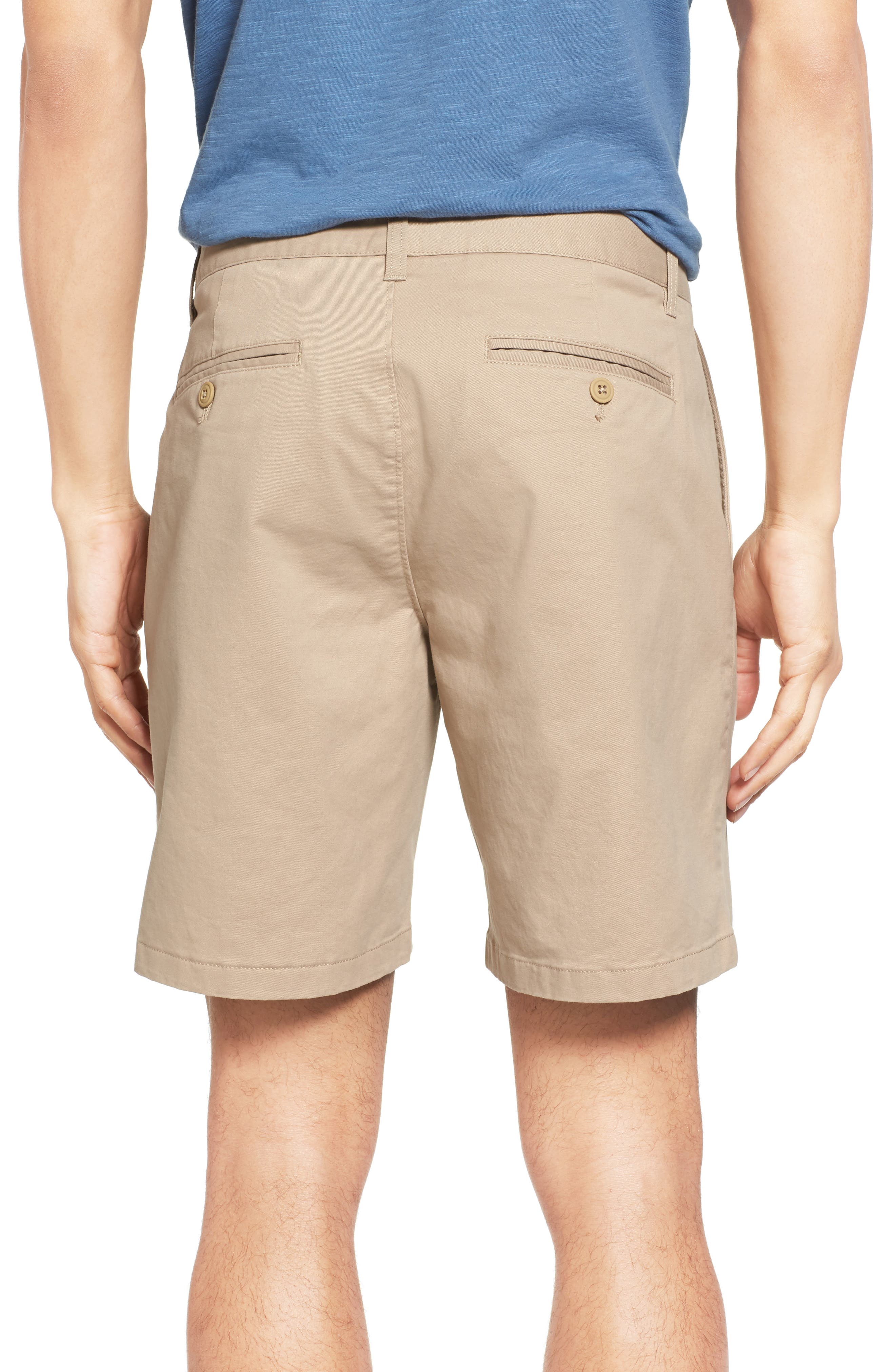 Stretch Washed Chino 7-Inch Shorts,                             Alternate thumbnail 2, color,                             True Khaki