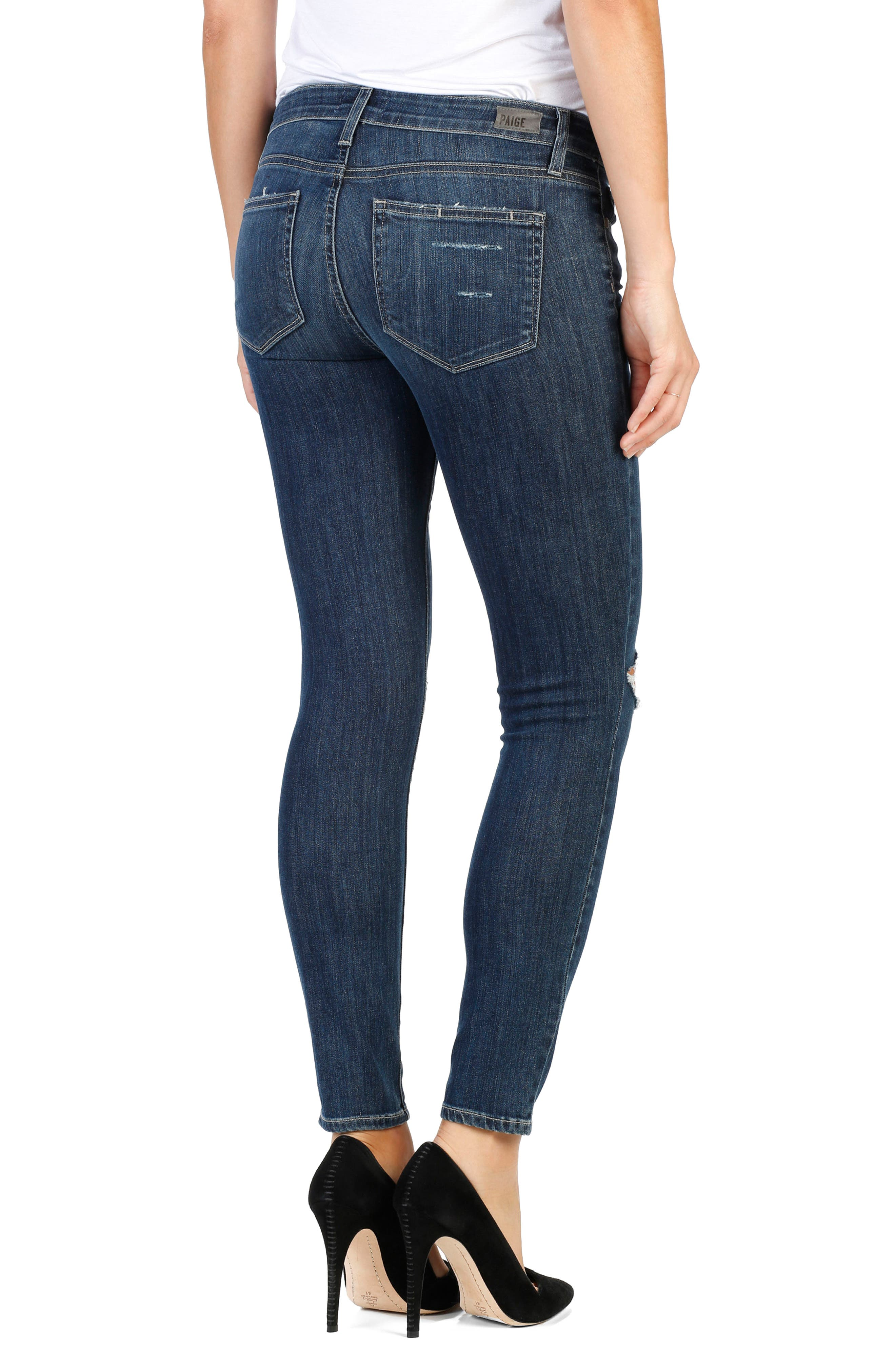 Legacy - Verdugo Ankle Skinny Jeans,                             Alternate thumbnail 2, color,                             Donna Distressed