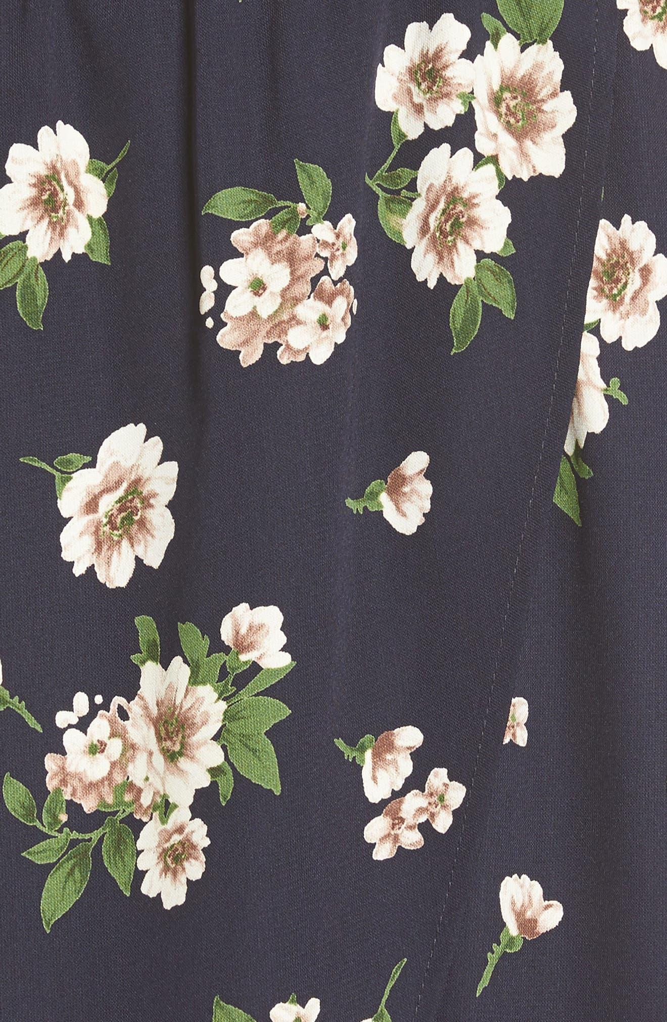 Alternate Image 5  - Soprano Floral Print Off the Shoulder Dress
