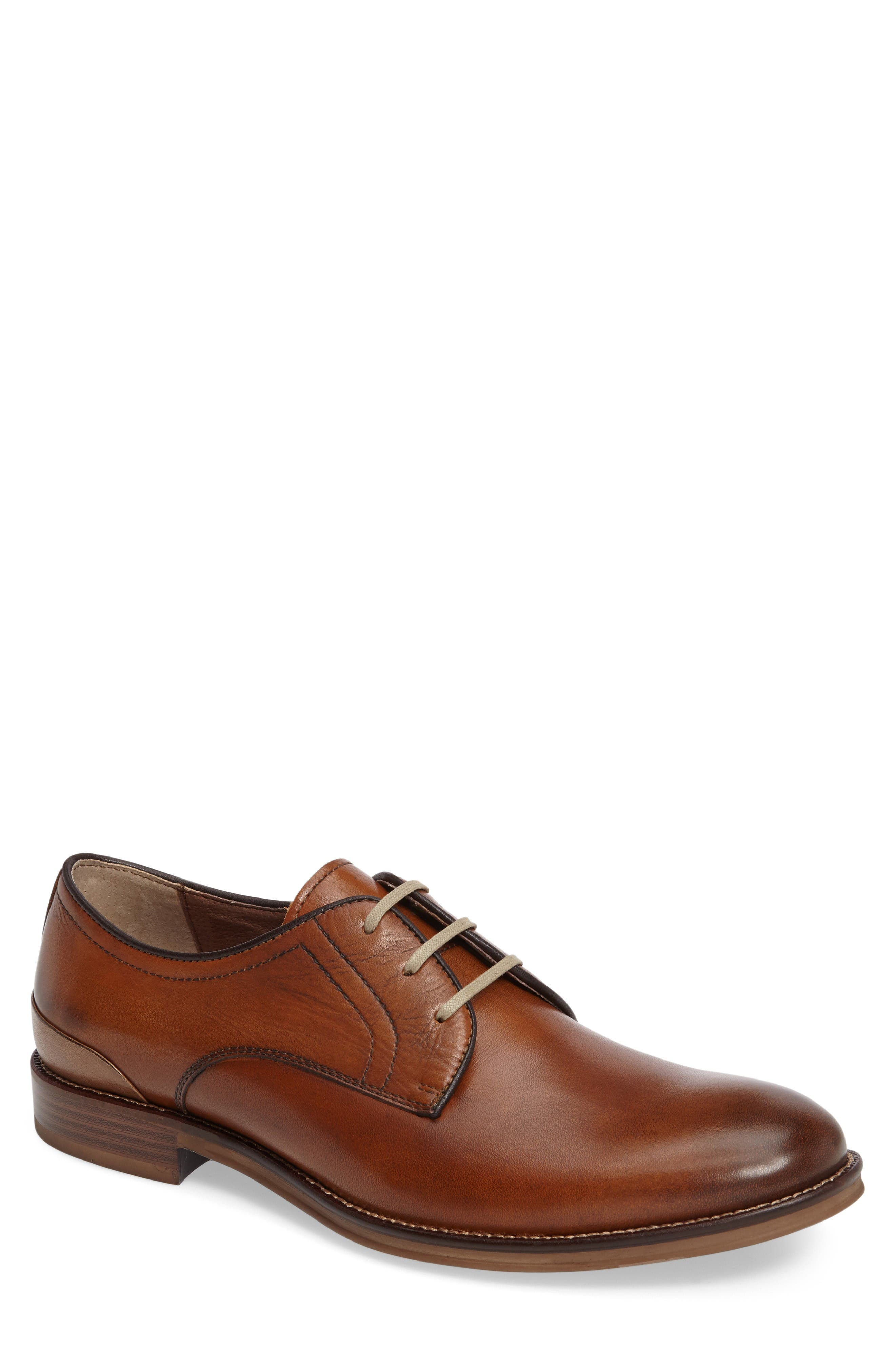J&M 1850 'Grayson' Plain Toe Derby (Men)