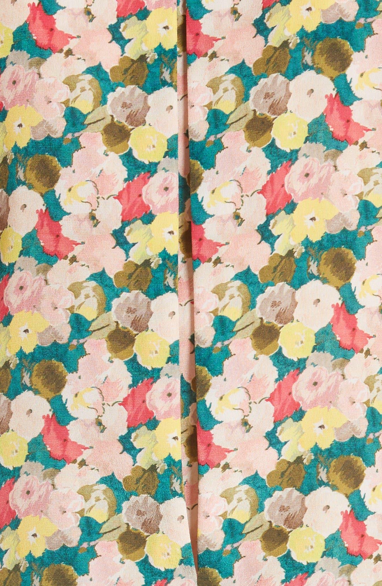 Alternate Image 3  - Lafayette 148 New York Tisha Floral Silk Blouse