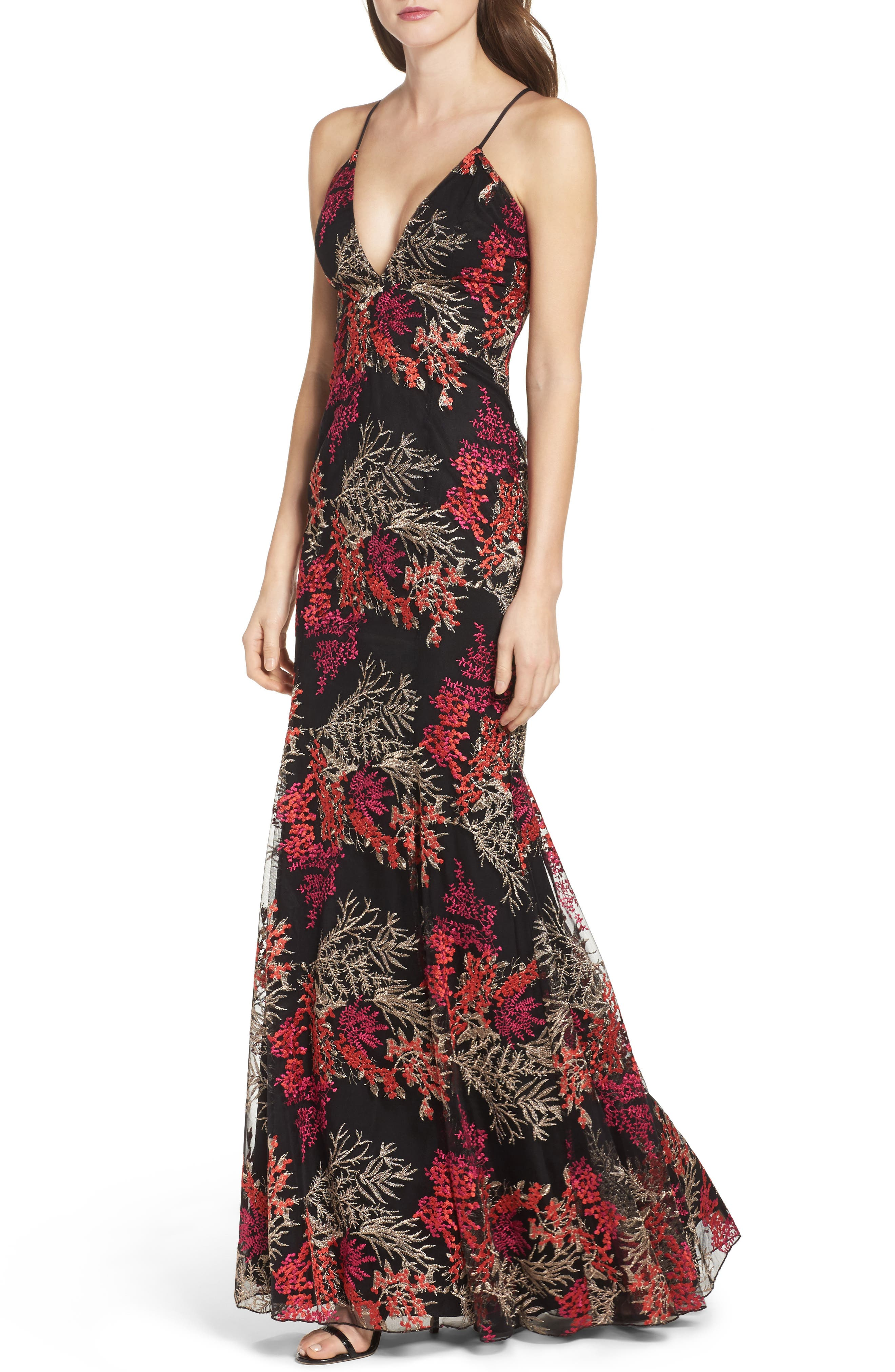 Alternate Image 4  - Jay Godfrey Henderson Embroidered Gown