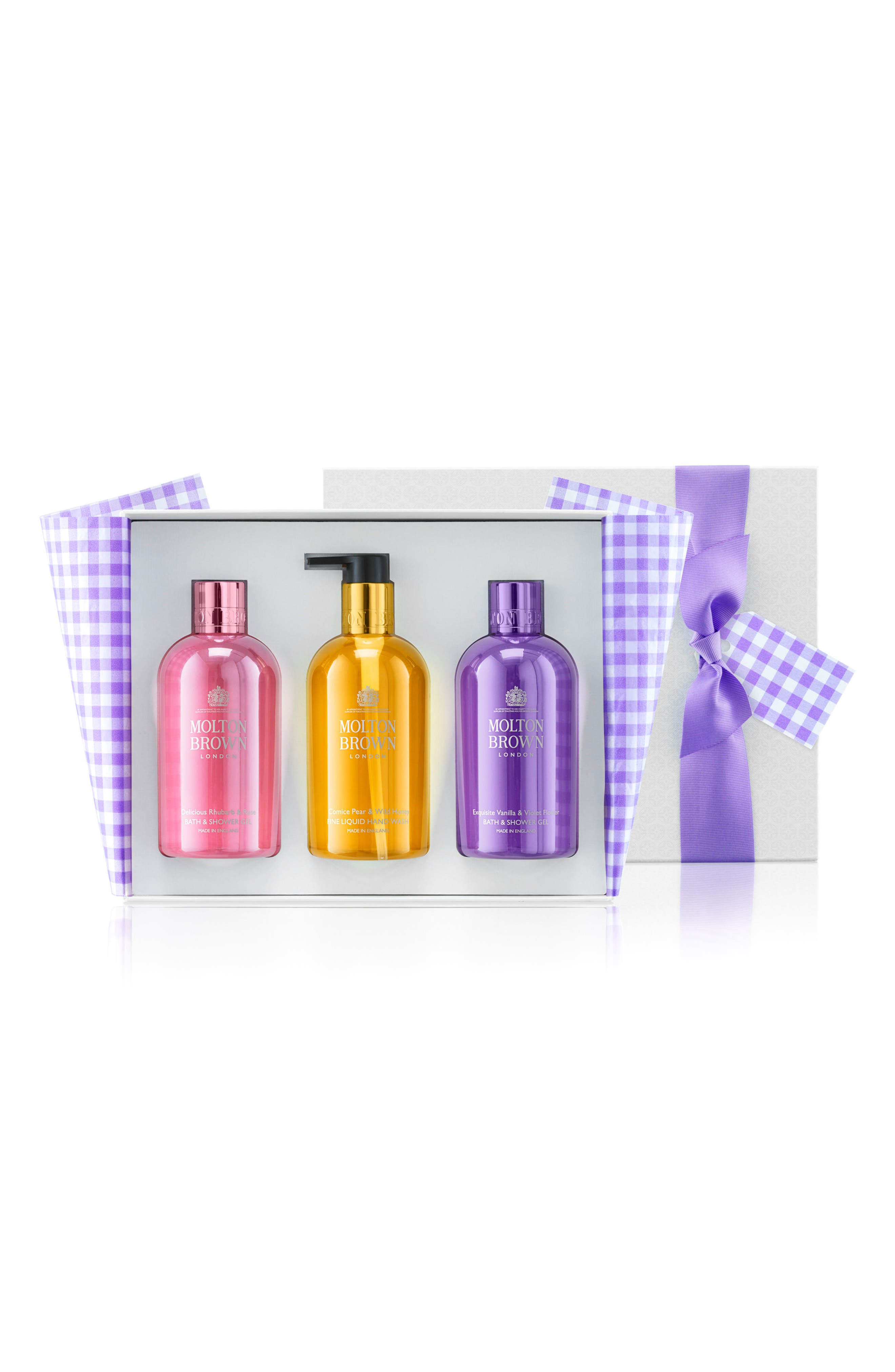 Main Image - MOLTON BROWN London The Perfect Picnic Bathing & Hand Trio ($88 Value)