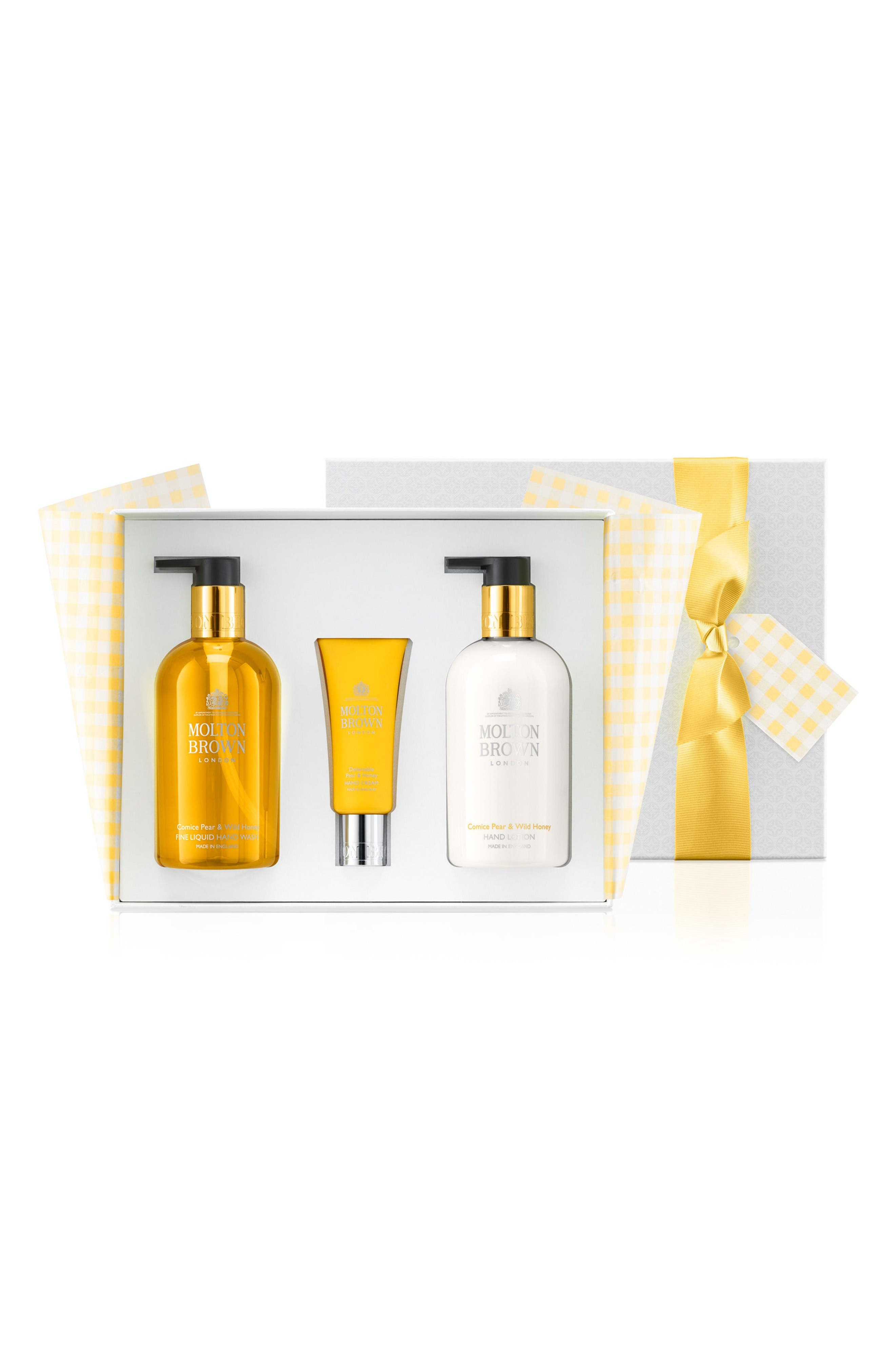 Main Image - MOLTON BROWN London Comice Pear & Wild Honey Hand Set ($77 Value)
