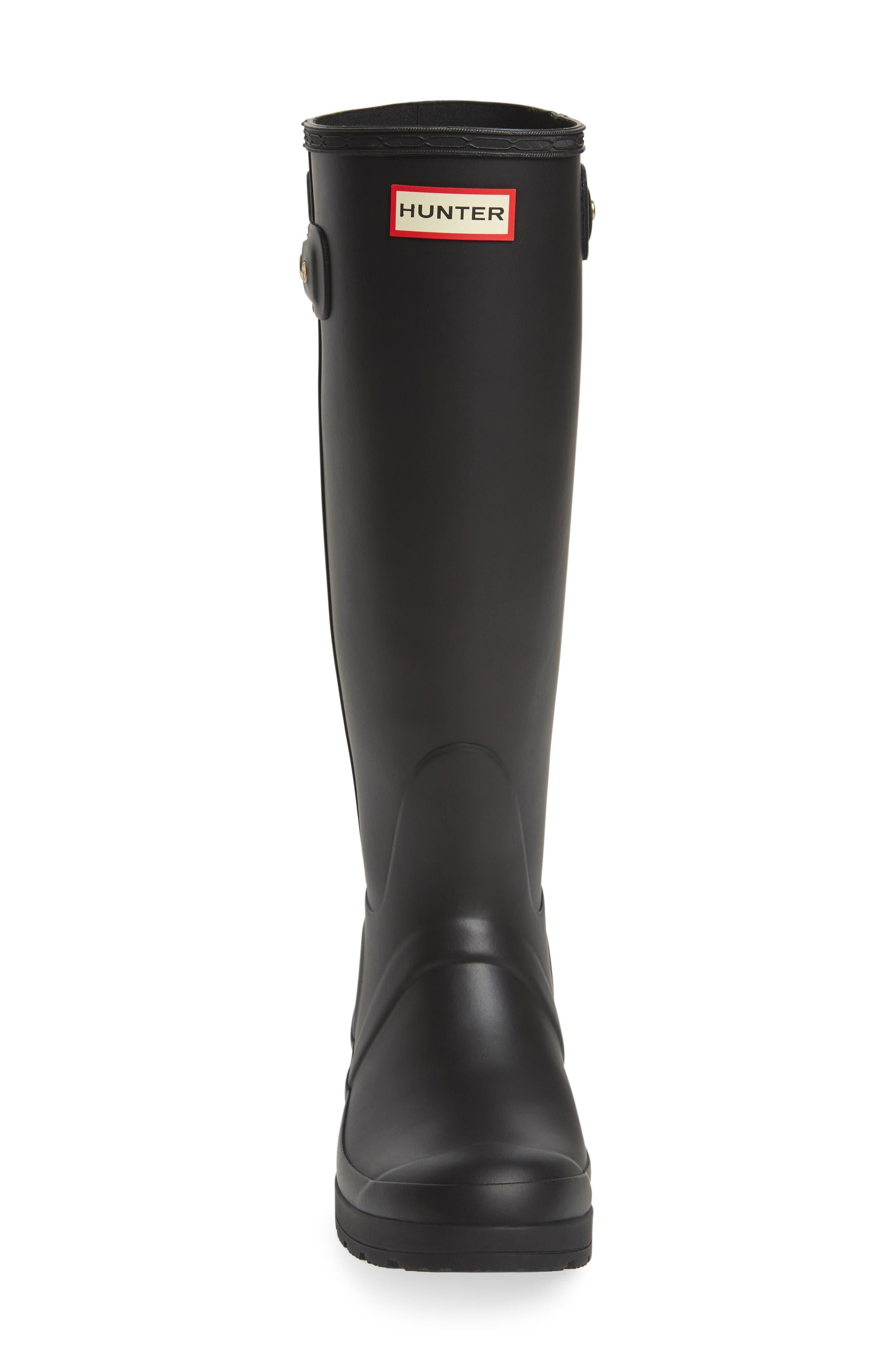 Alternate Image 3  - Hunter Original Tall Studded Wedge Rain Boot (Women)