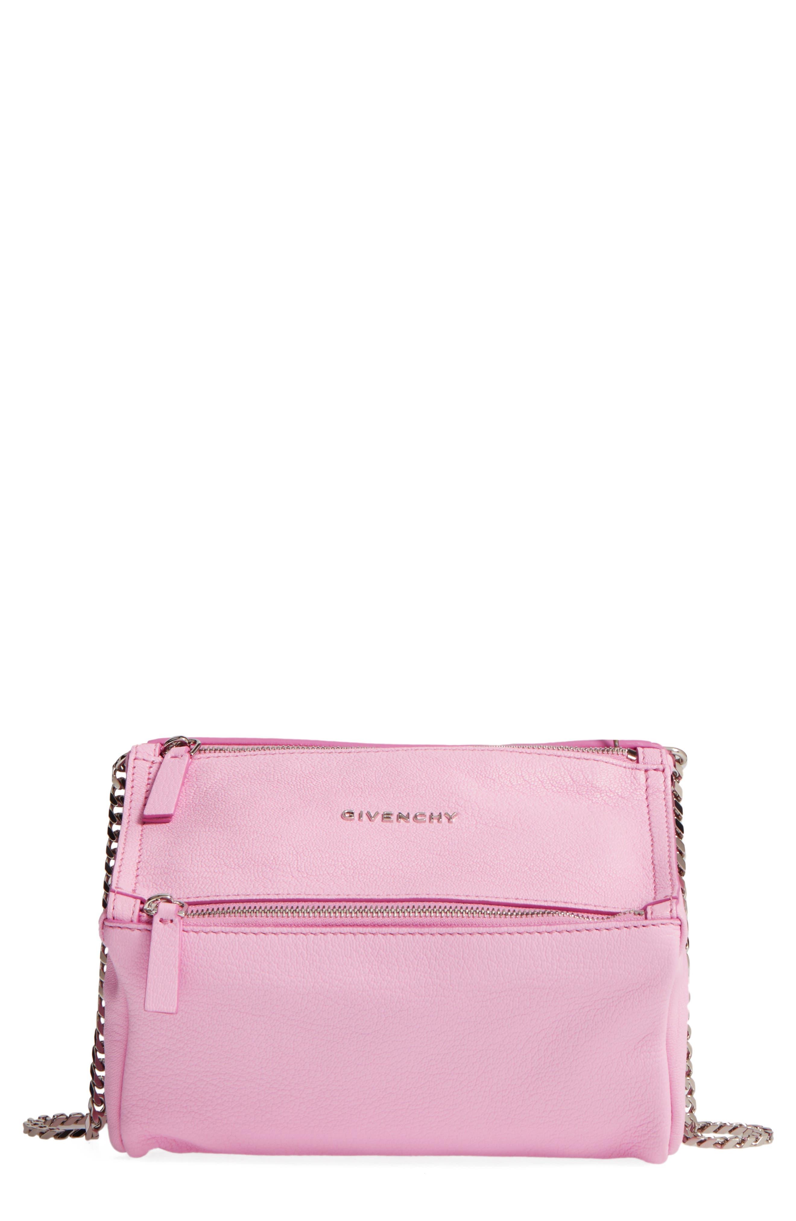 Main Image - Givenchy Mini Pandora Sugar Leather Shoulder Bag