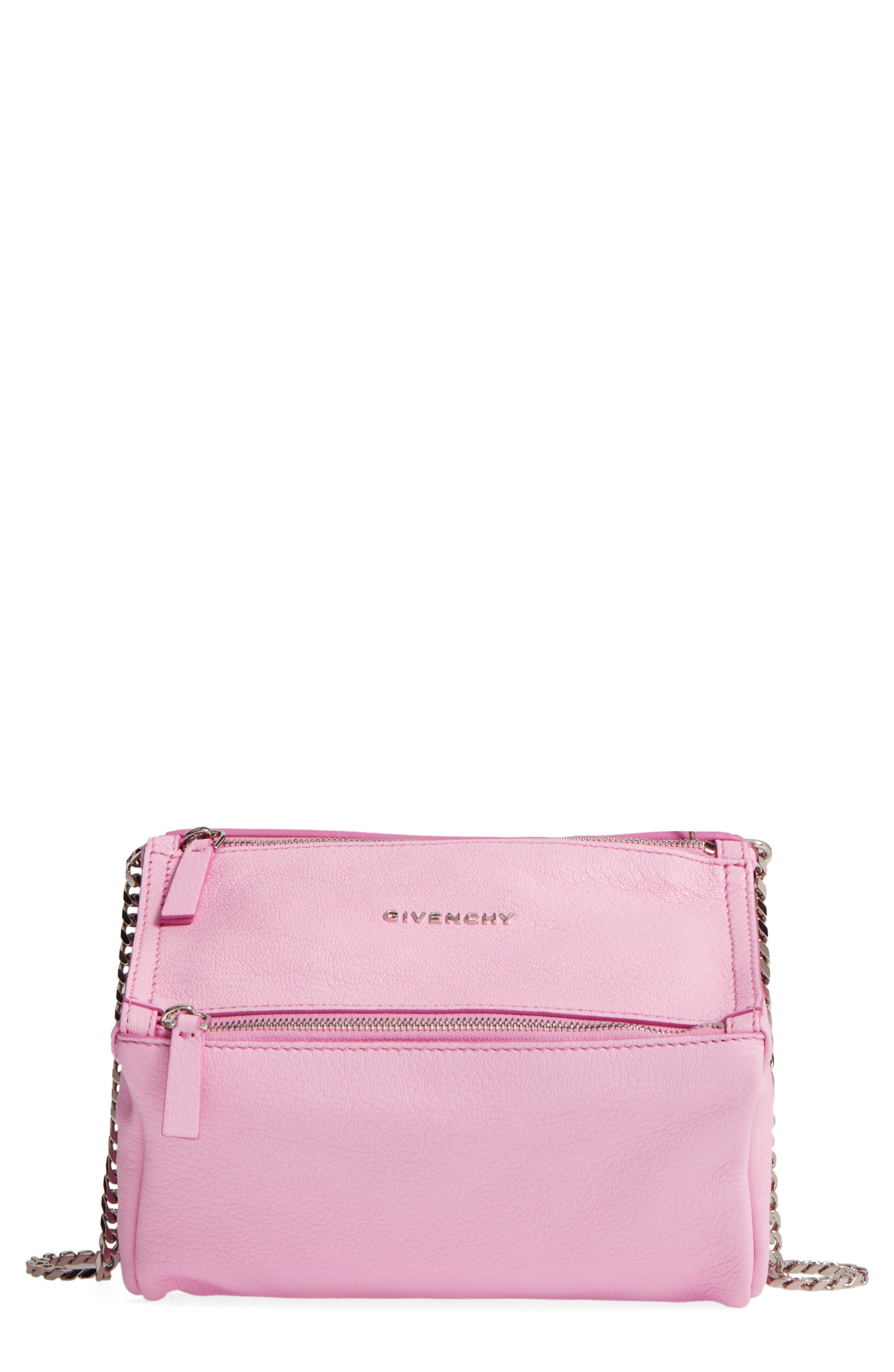 Givenchy Mini Pandora Sugar Leather Shoulder Bag