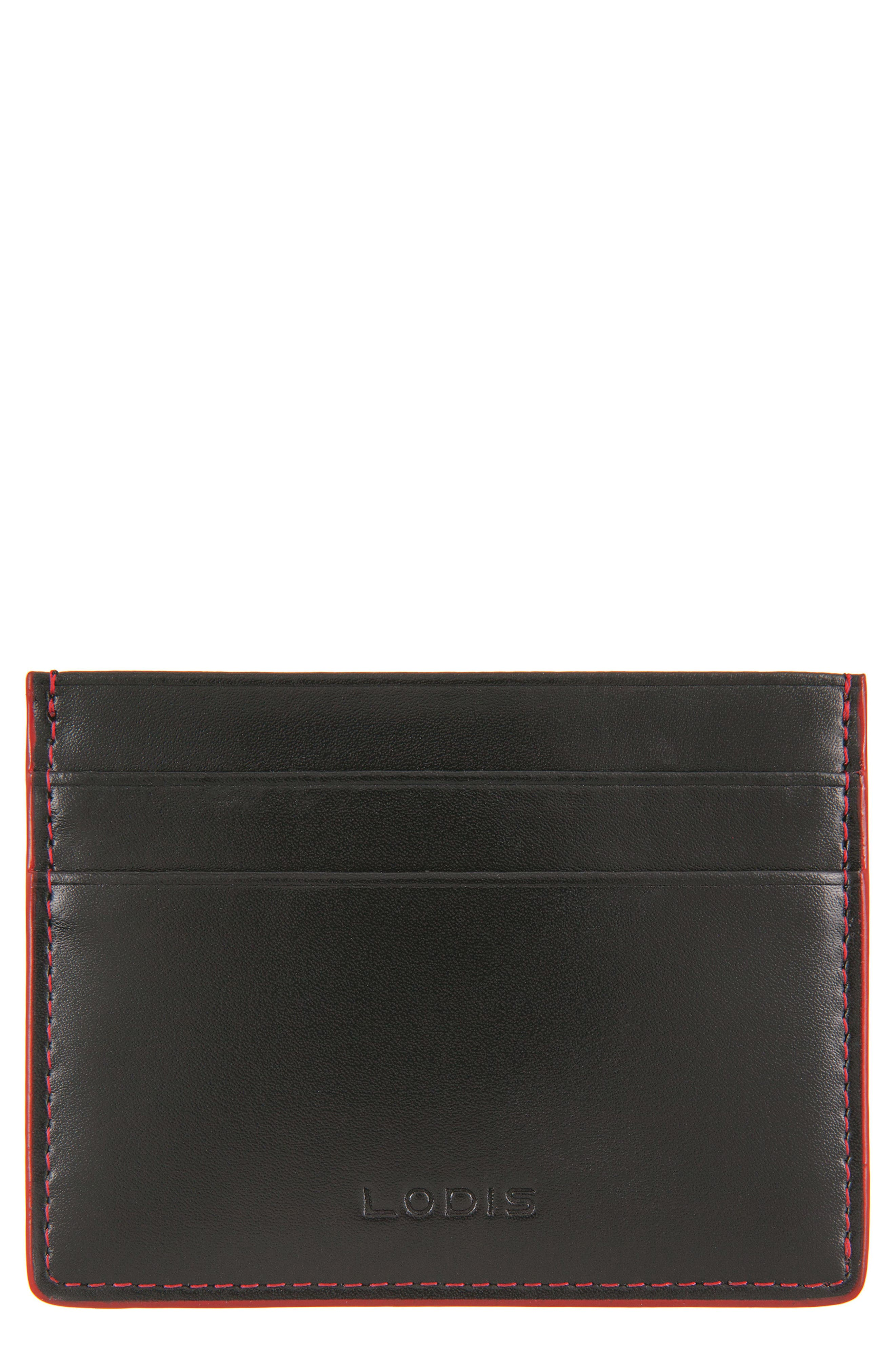 Lodis Mini Audrey Leather ID Card Case