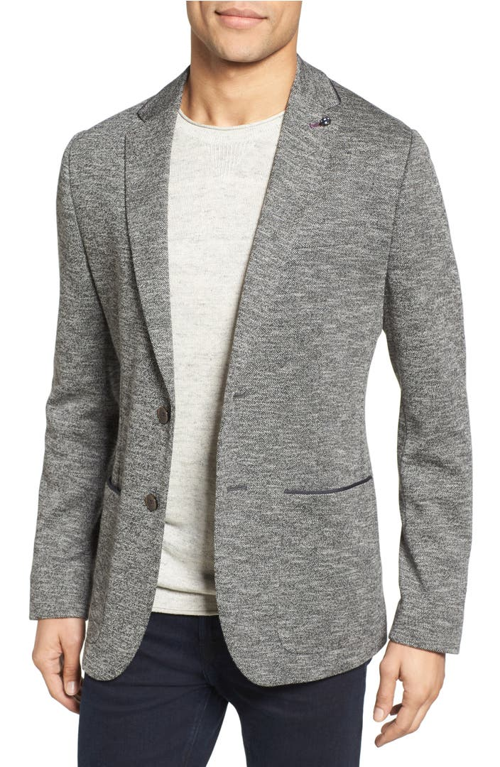 Ted Baker London Italy Modern Slim Fit Textured Jersey