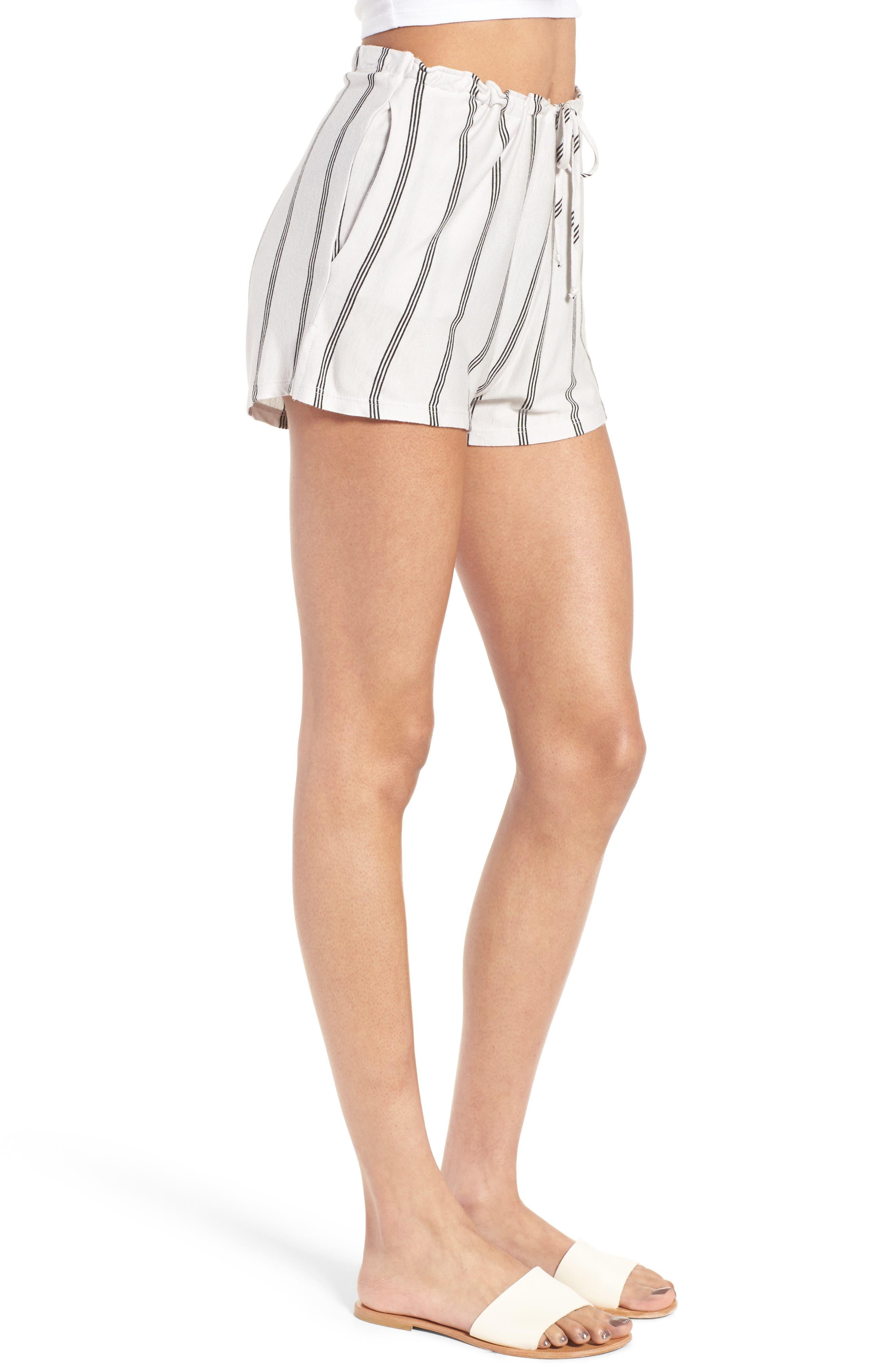 Alternate Image 3  - Michelle by Comune Reklaw Stripe Shorts