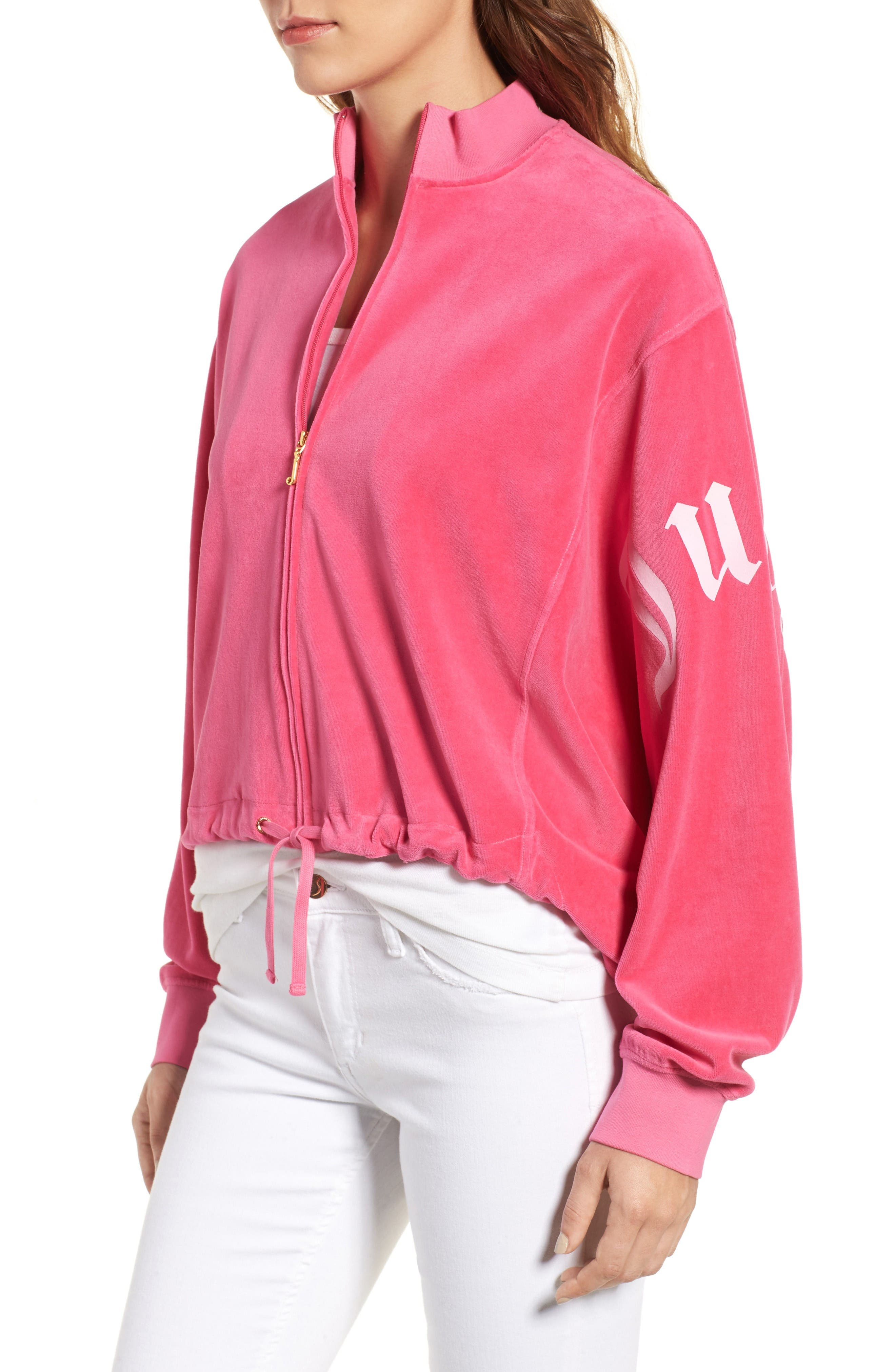 Alternate Image 3  - Juicy Couture Velour Batwing Track Jacket