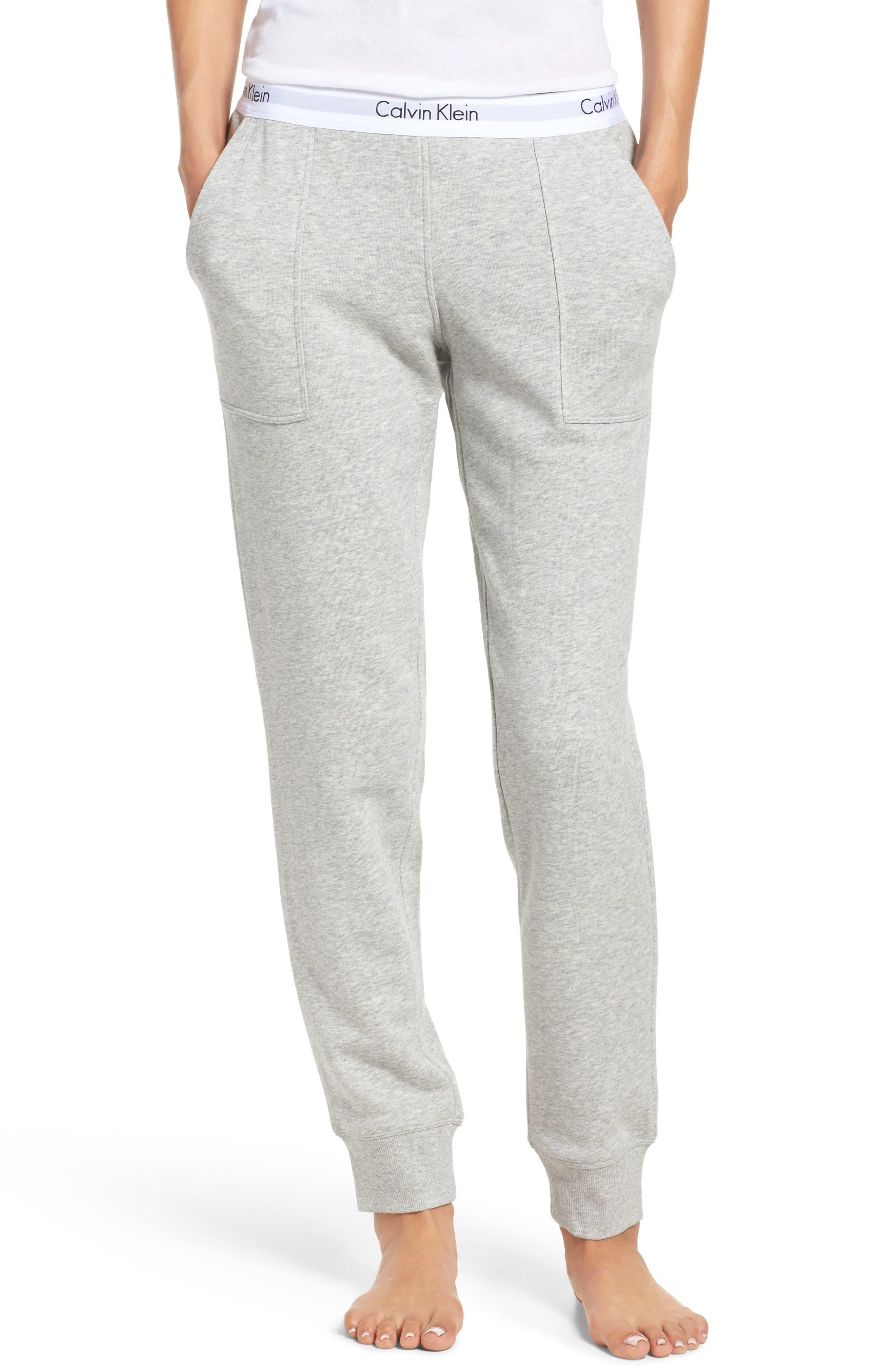 Alternate Image 1 Selected - Calvin Klein Lounge Jogger Pants