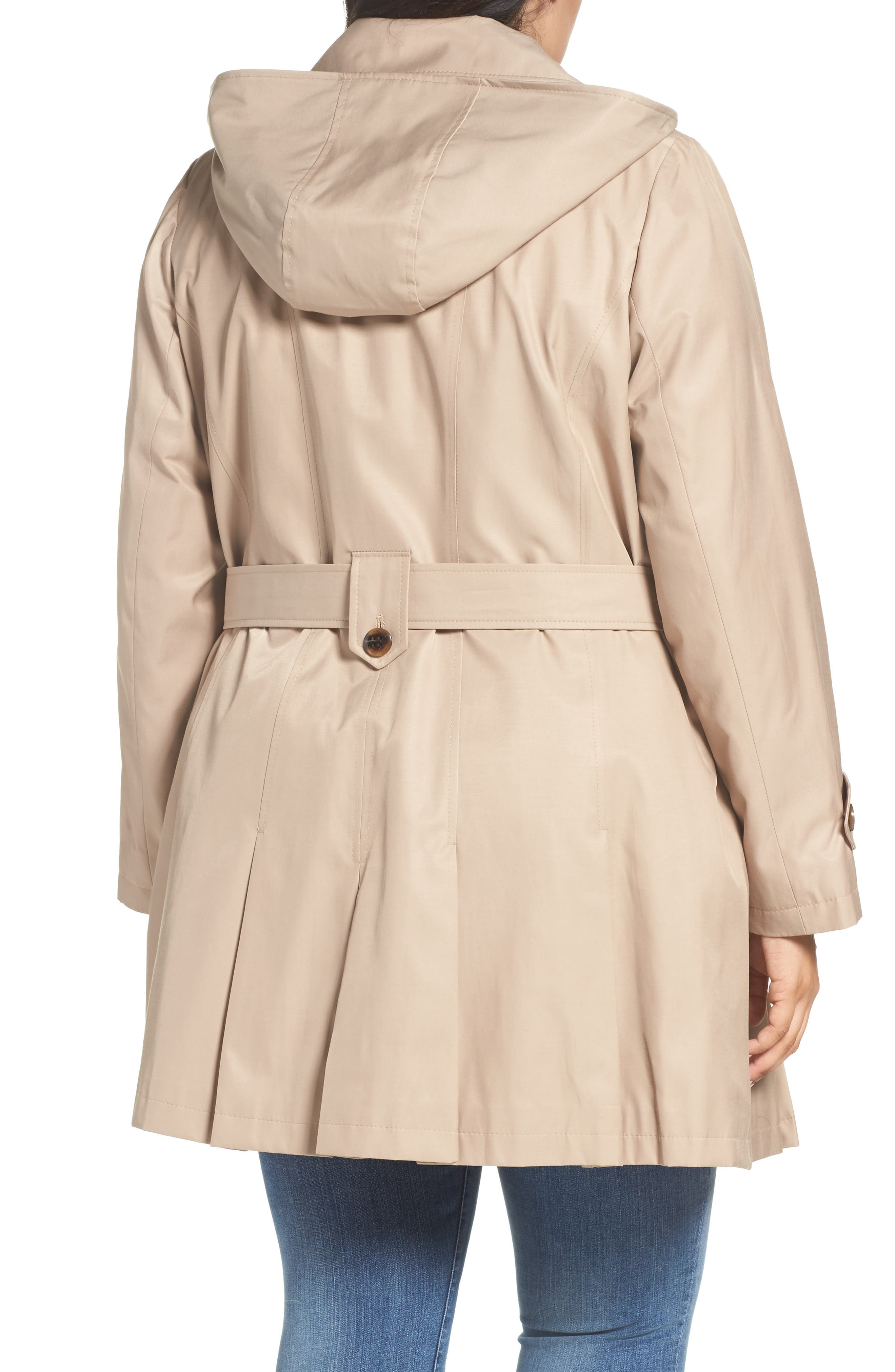 'Scarpa' Single Breasted Trench Coat,                             Alternate thumbnail 2, color,                             New Sand