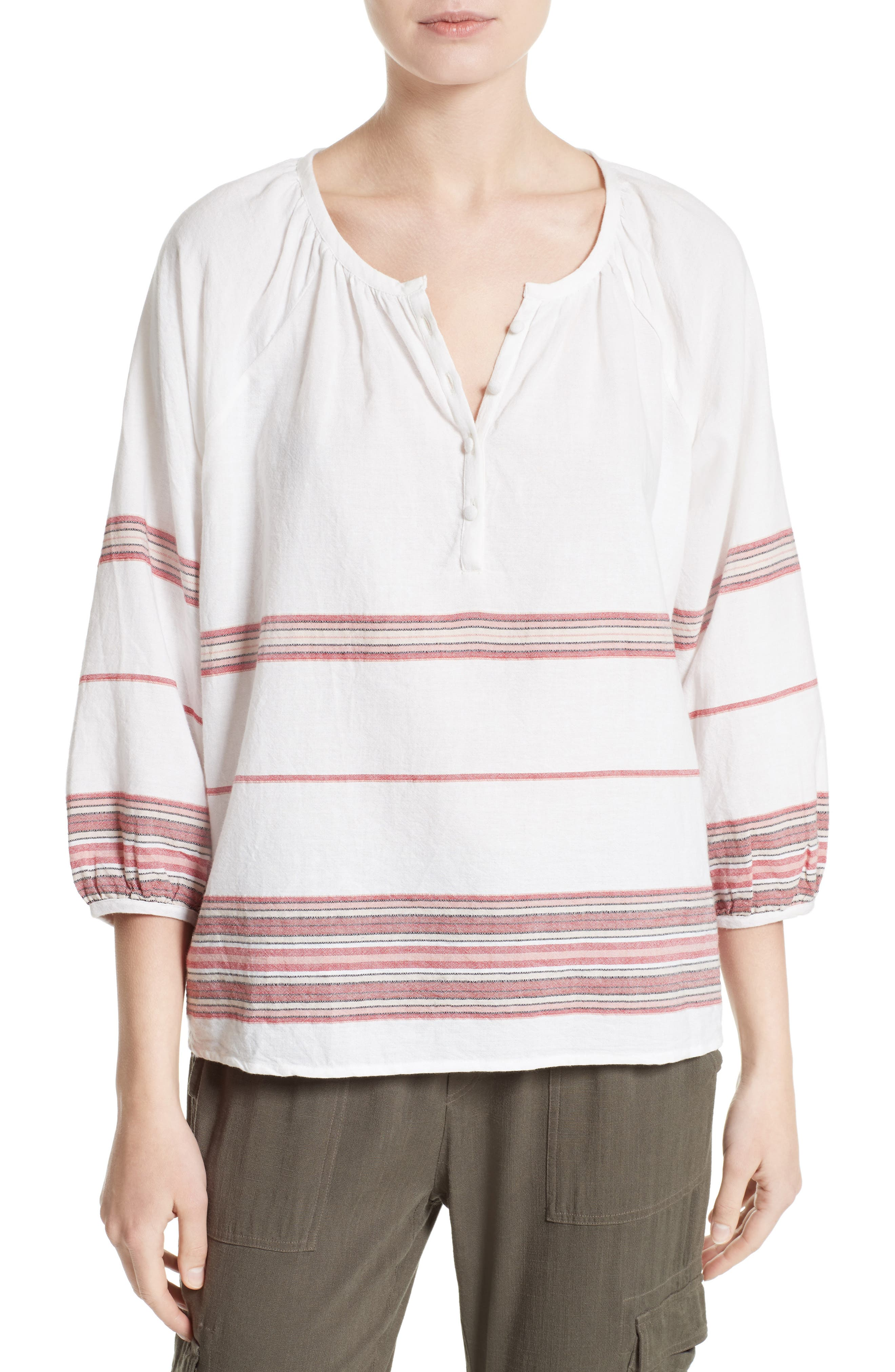 Soft Joie Yarissa Peasant Top