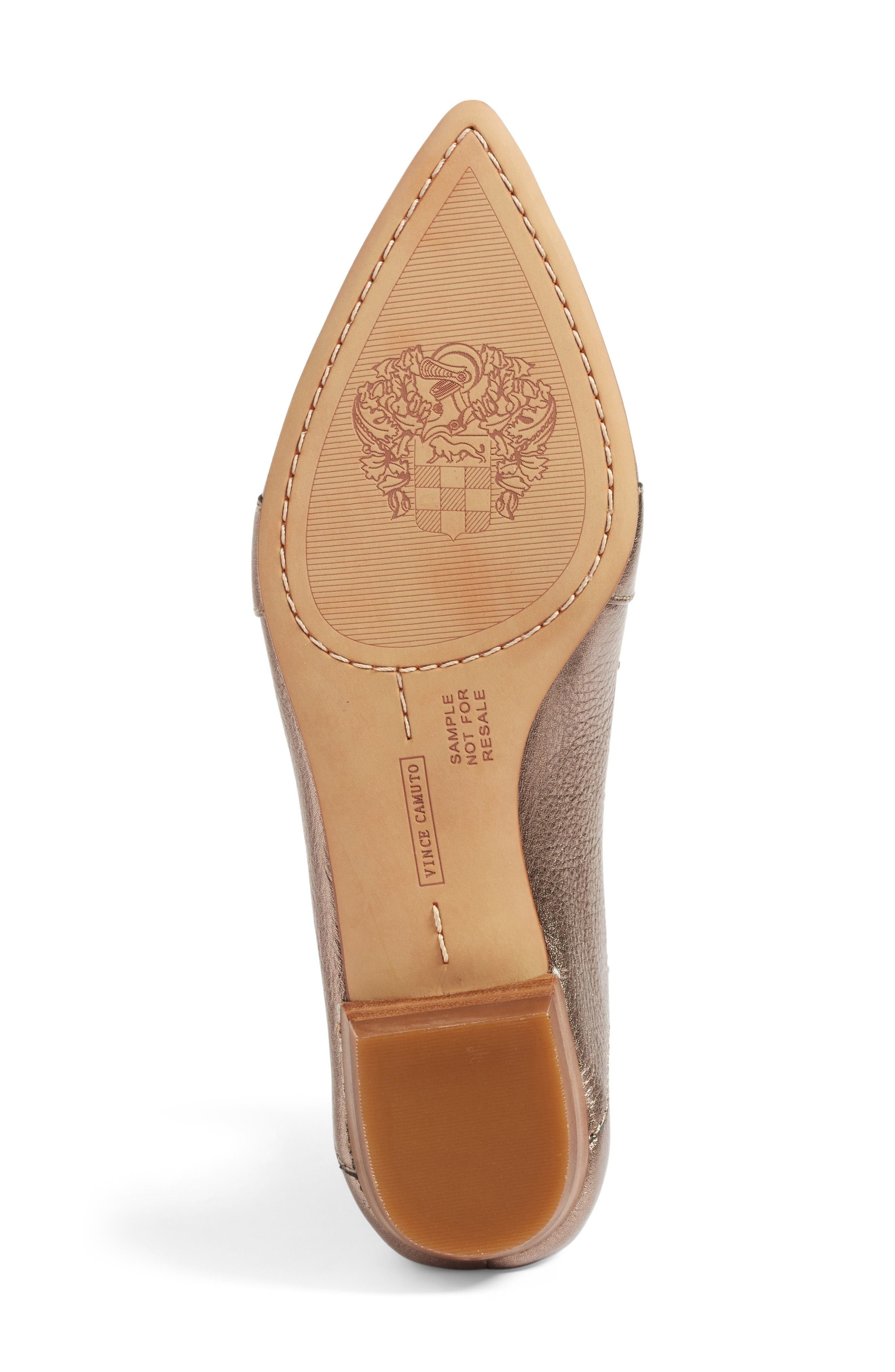 Alternate Image 4  - Vince Camuto Maita Pointy Toe Flat (Women) (Nordstrom Exclusive)