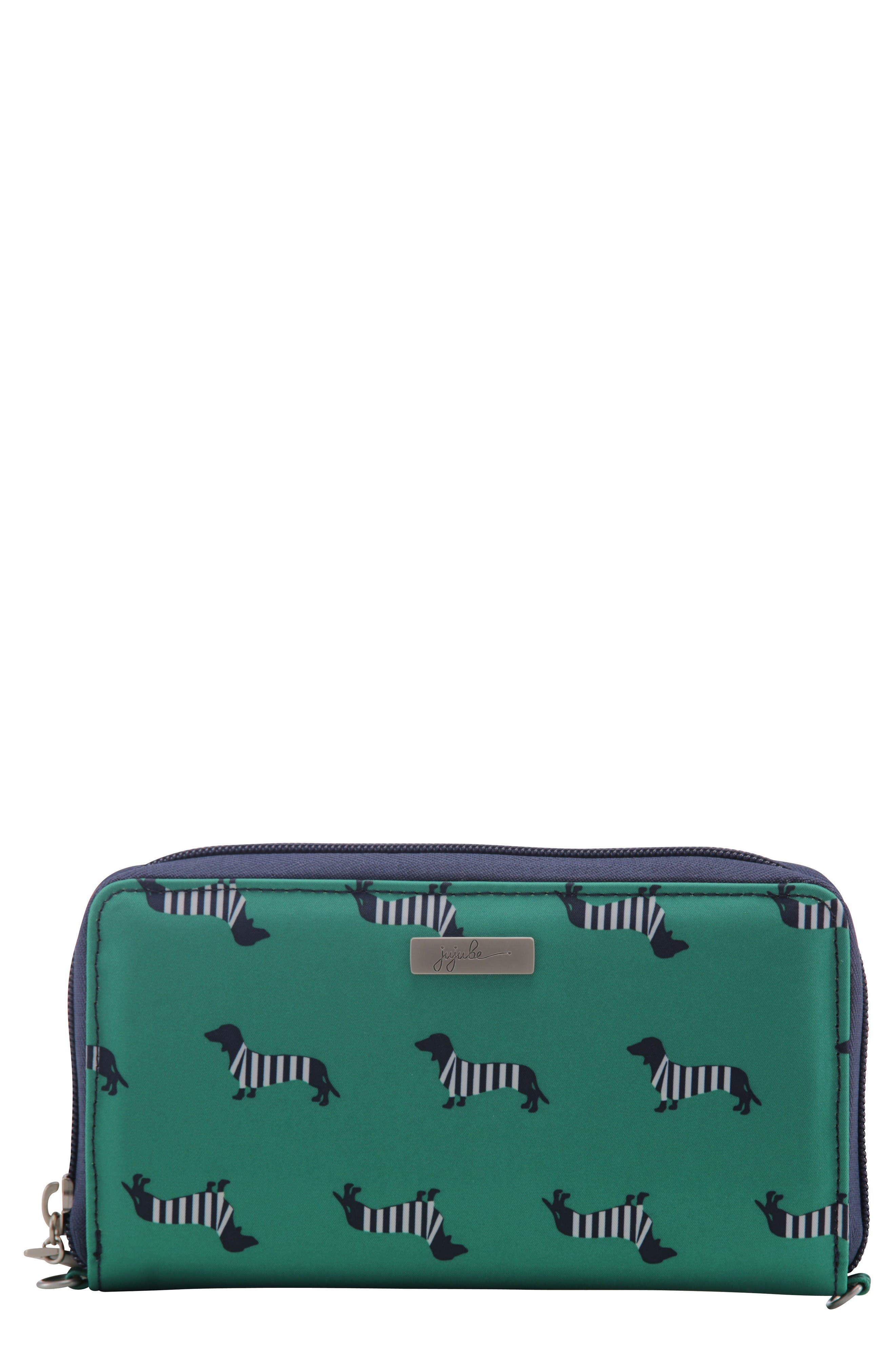 Be Spendy - Coastal Collection Clutch Wallet,                             Main thumbnail 1, color,                             Coney Island