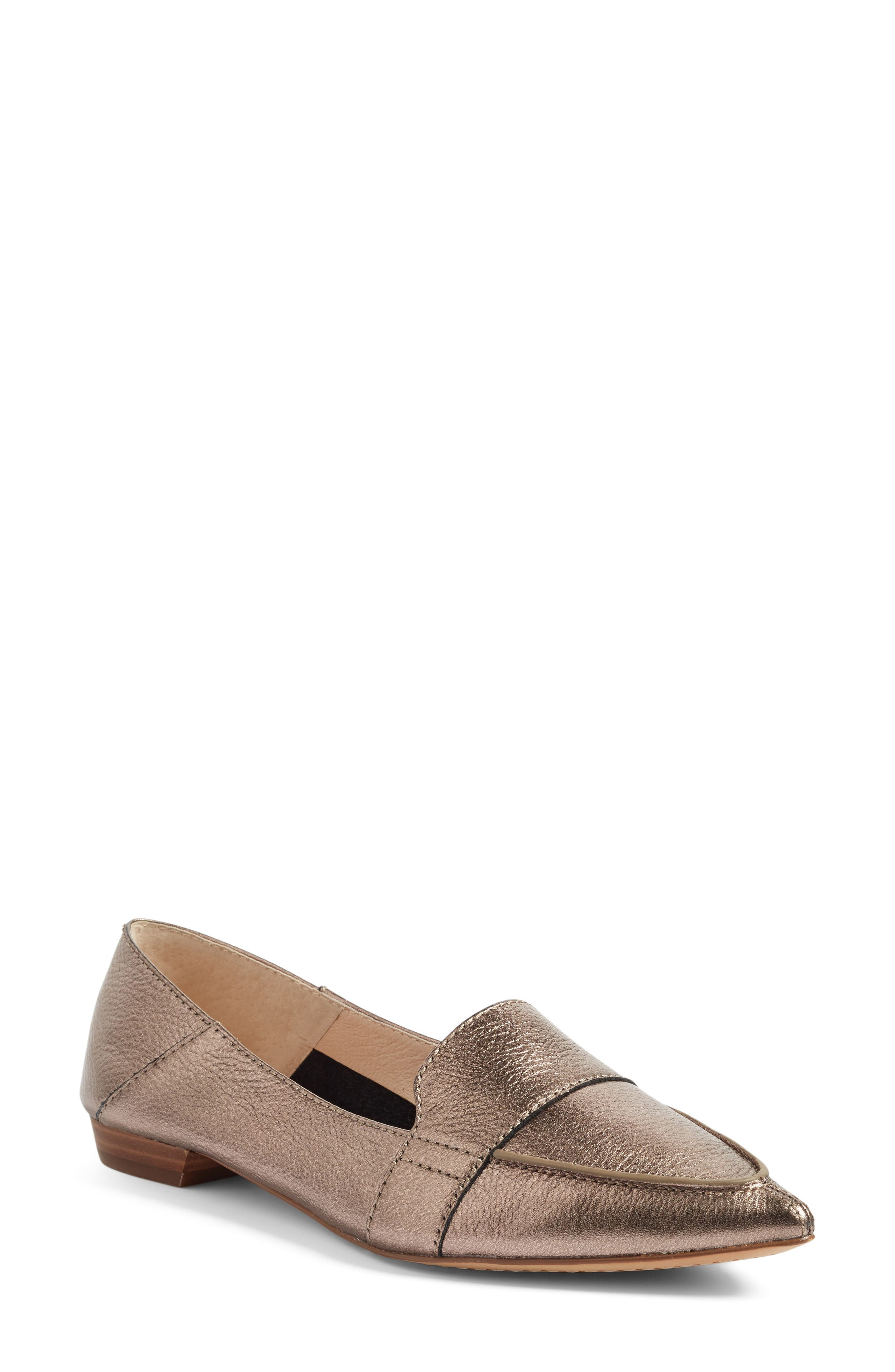 Main Image - Vince Camuto Maita Pointy Toe Flat (Women) (Nordstrom Exclusive)