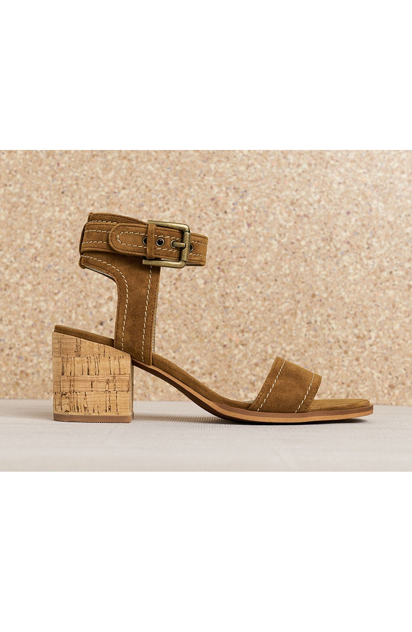 Dylan Block Heel Sandal,                             Alternate thumbnail 2, color,