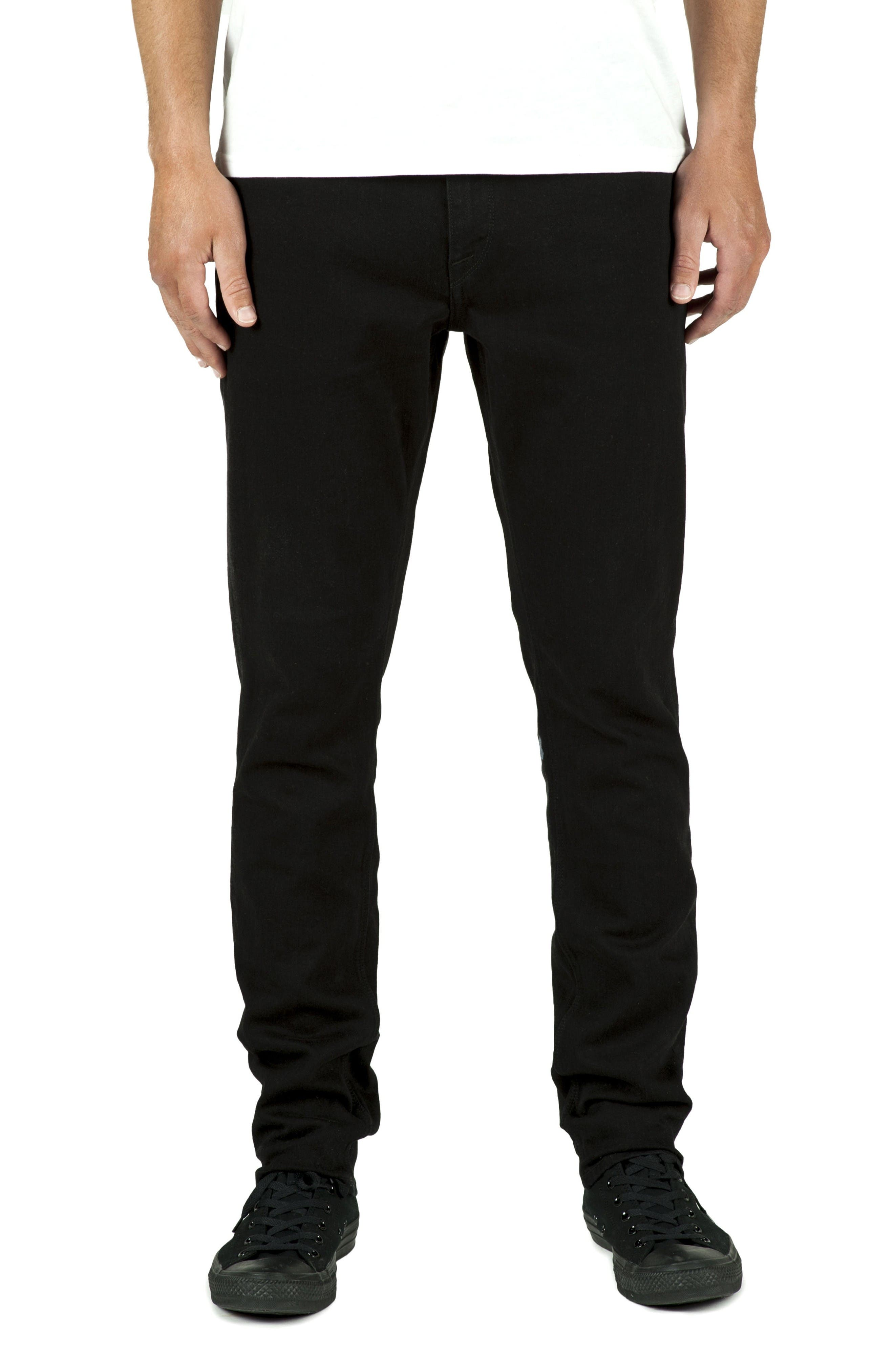 'Solver' Tapered Jeans,                         Main,                         color, Twilight