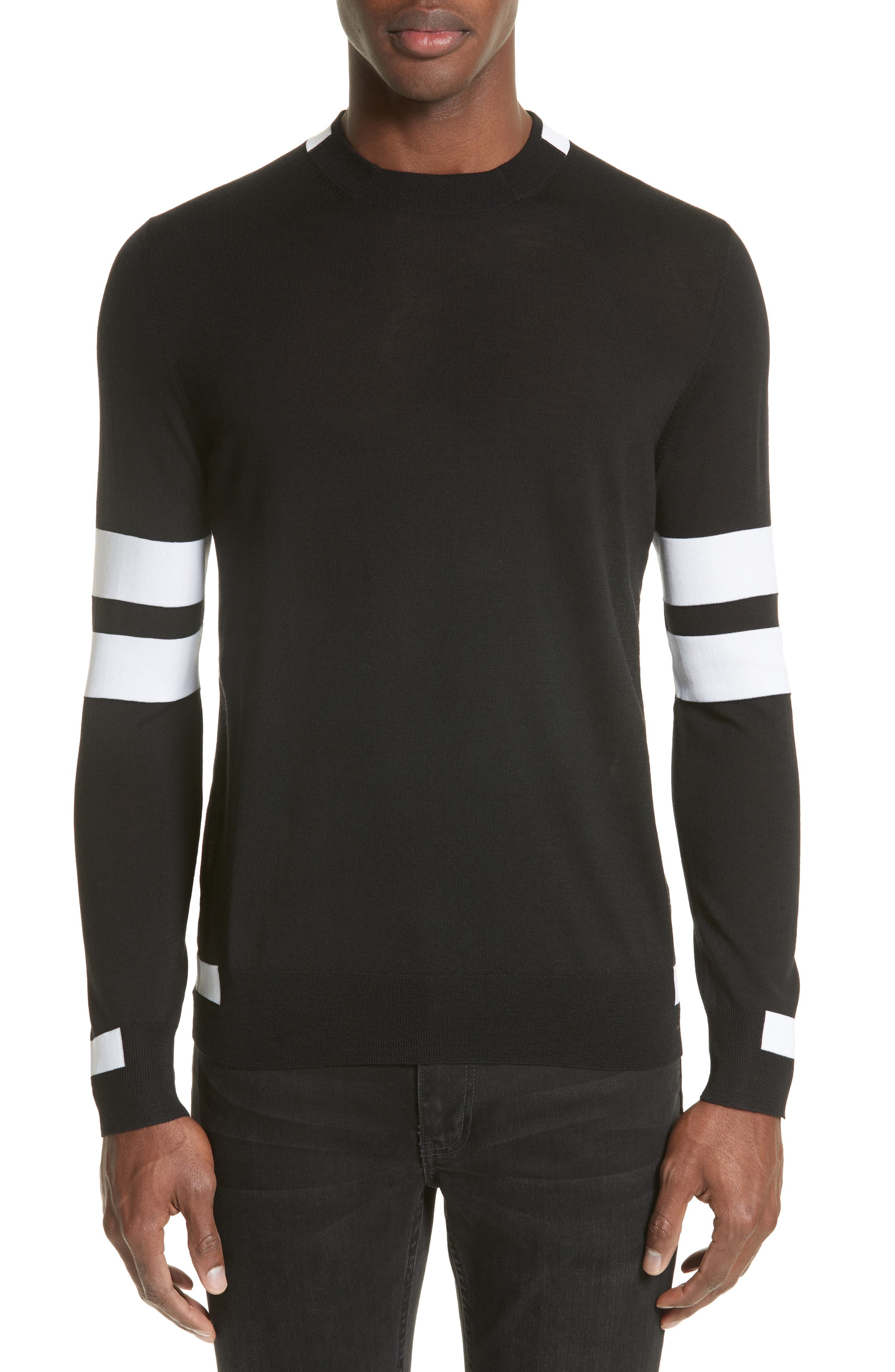 Givenchy Wool Stripe Pullover
