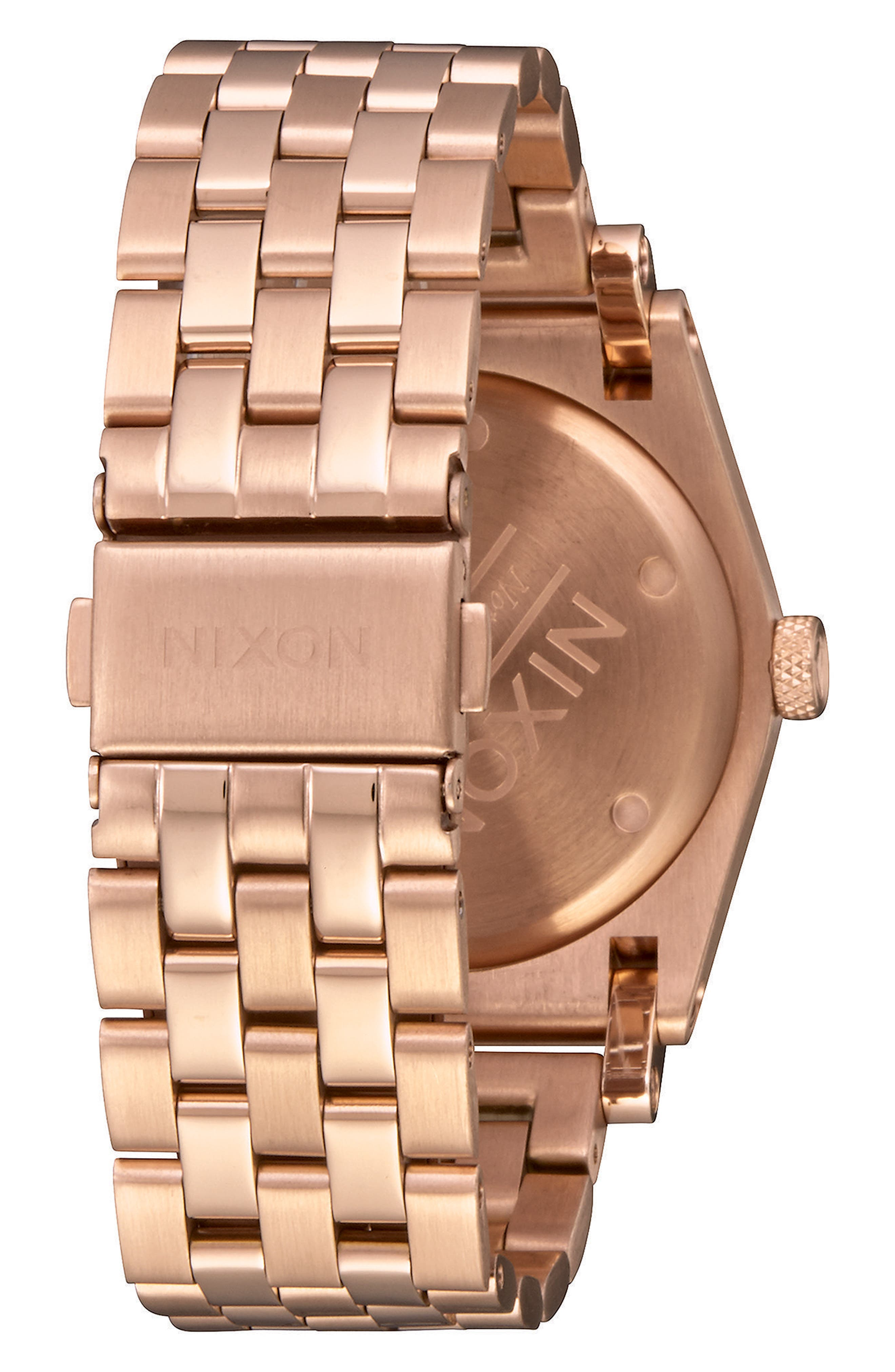 Jane Bracelet Watch, 36mm,                             Alternate thumbnail 2, color,                             Rose Gold/ Brown