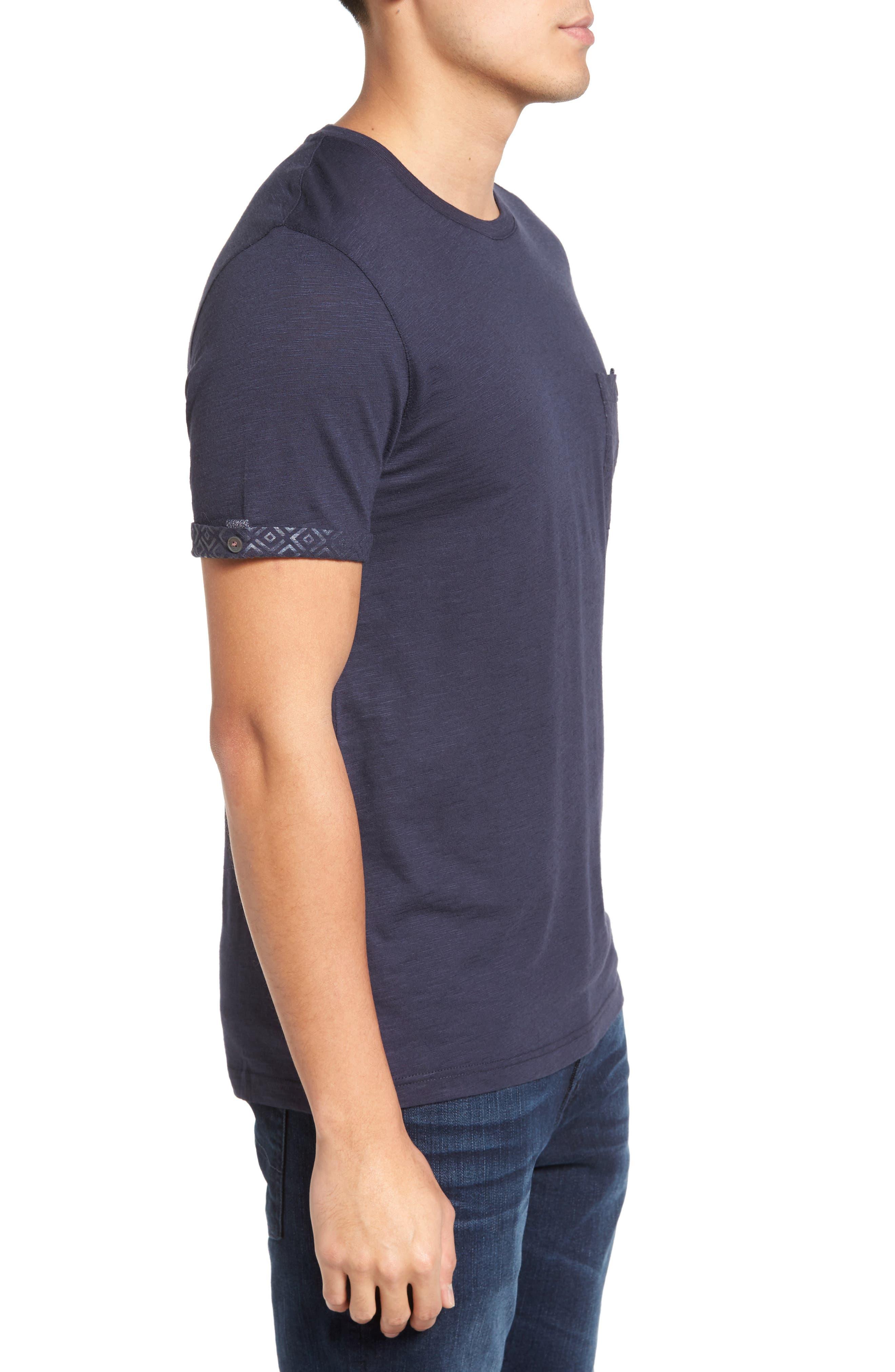 Alternate Image 3  - Ted Baker London Apel Print Pocket T-Shirt