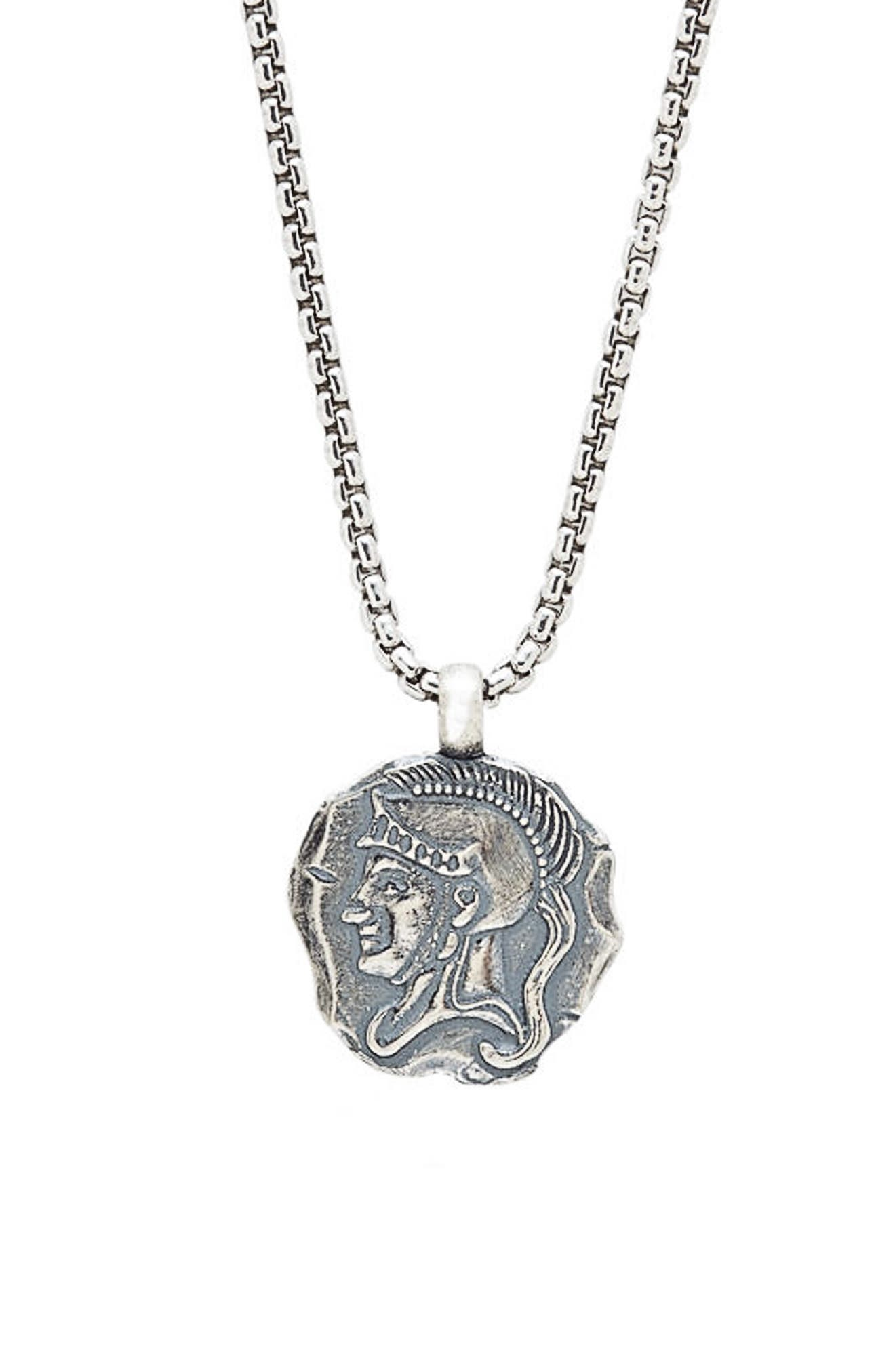DEGS & SAL Spartan Pendant Necklace