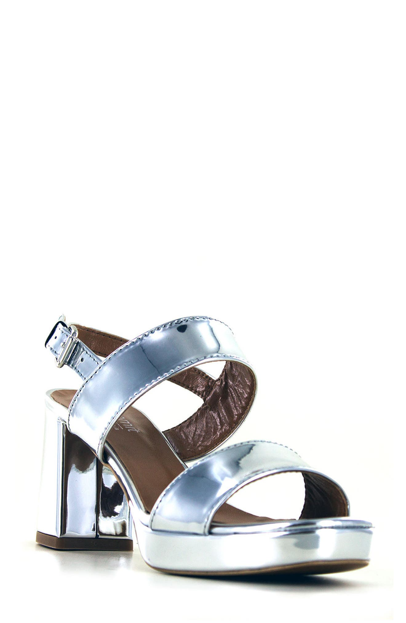 Alternate Image 1 Selected - Summit Emilia Block Heel Sandal (Women)