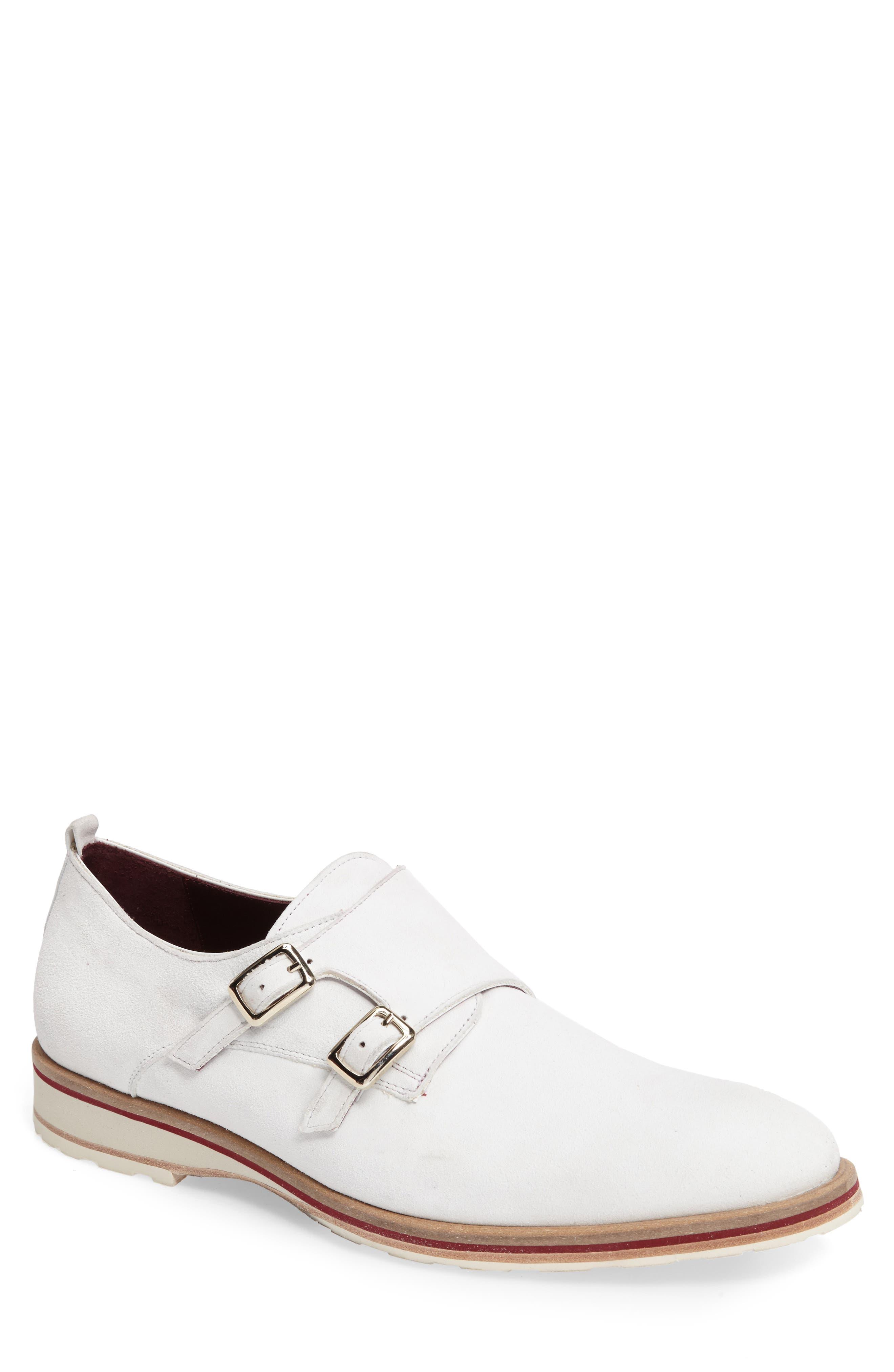 Mezlan Davy Double Monk Strap Shoe (Men)