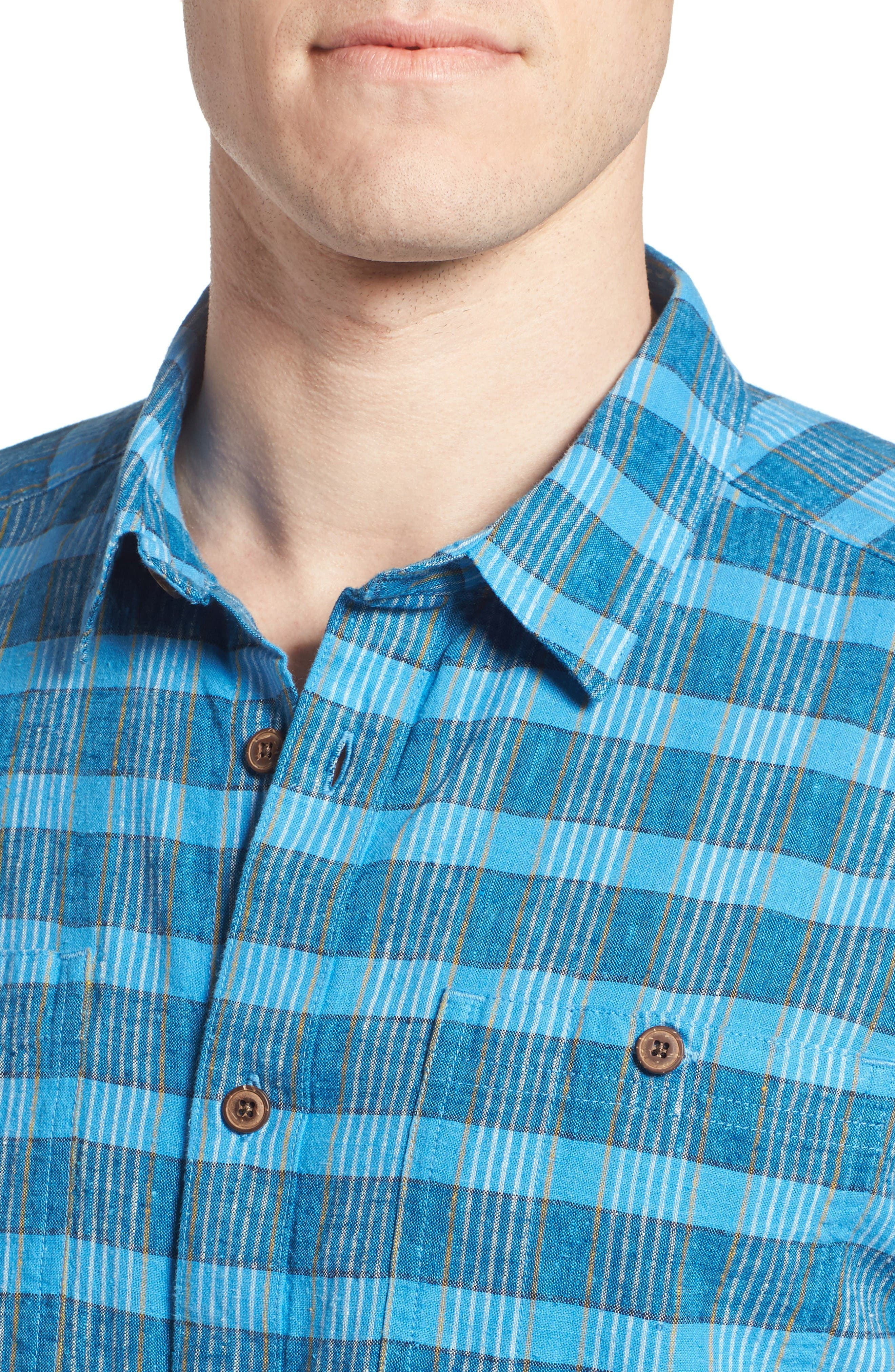 Alternate Image 4  - Patagonia 'Back Step' Regular Fit Check Short Sleeve Sport Shirt