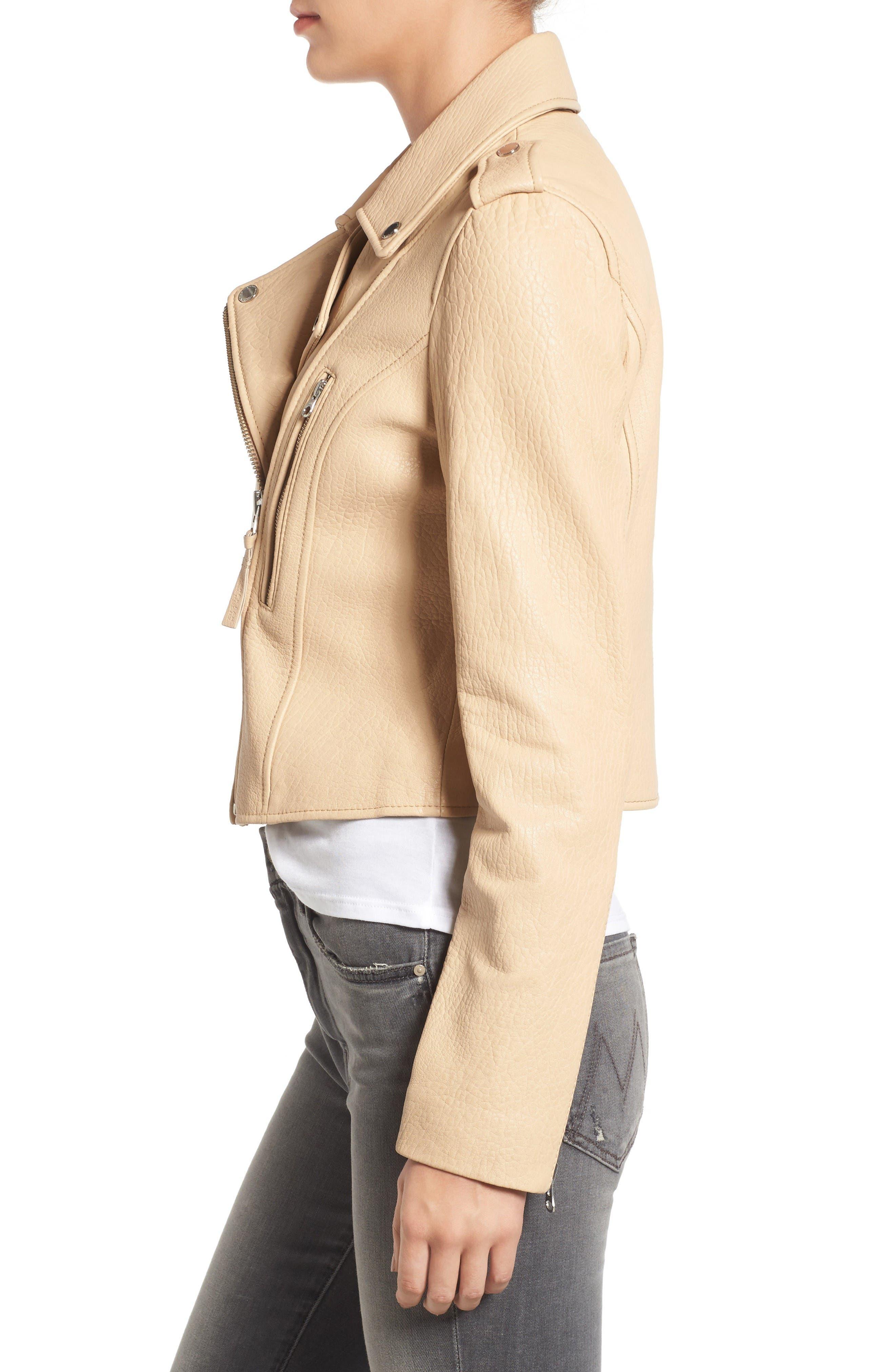 Alternate Image 3  - Derek Lam 10 Crosby Leather Moto Jacket