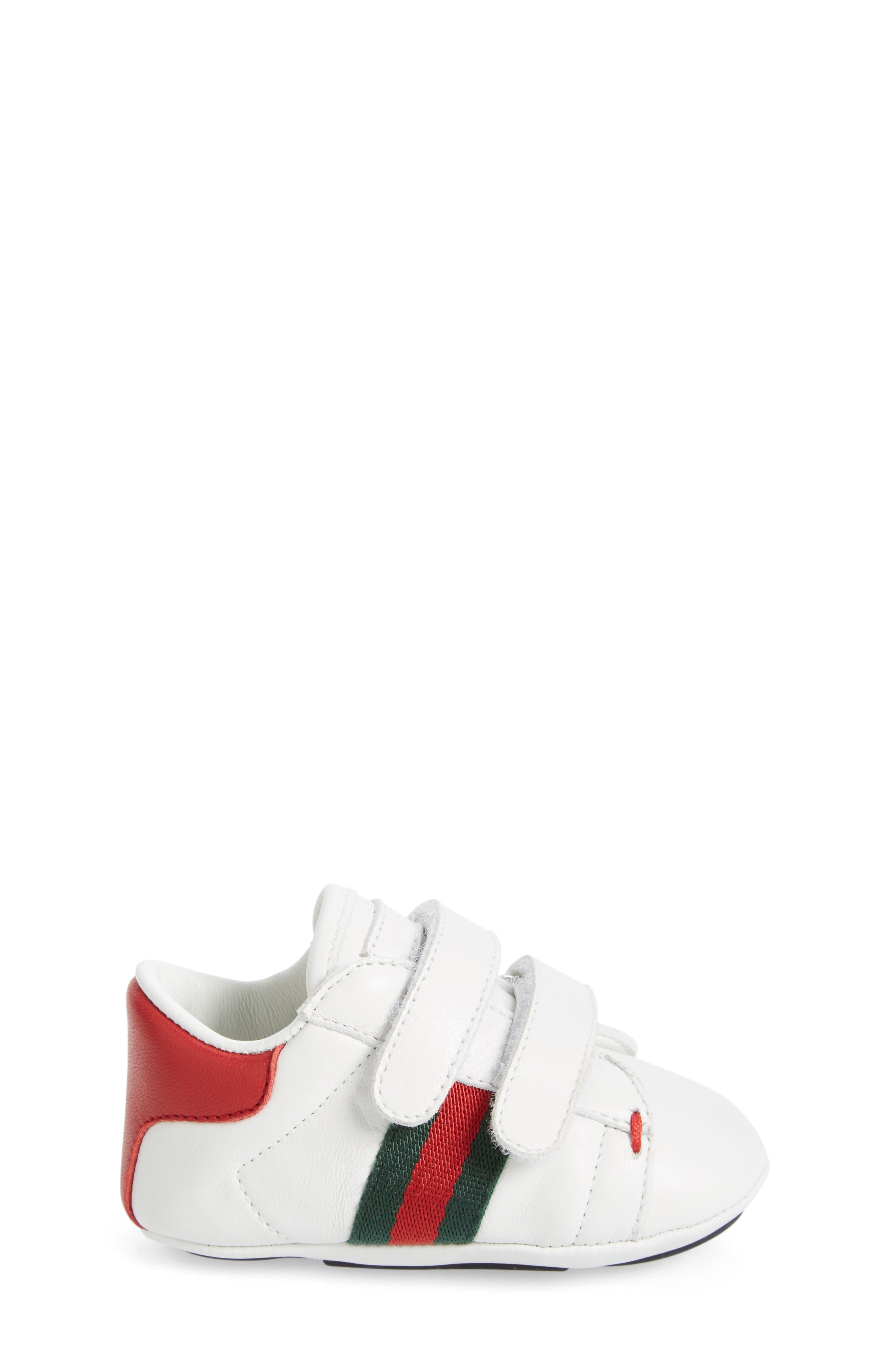 Alternate Image 5  - Gucci 'Ace' Crib Shoe (Baby)