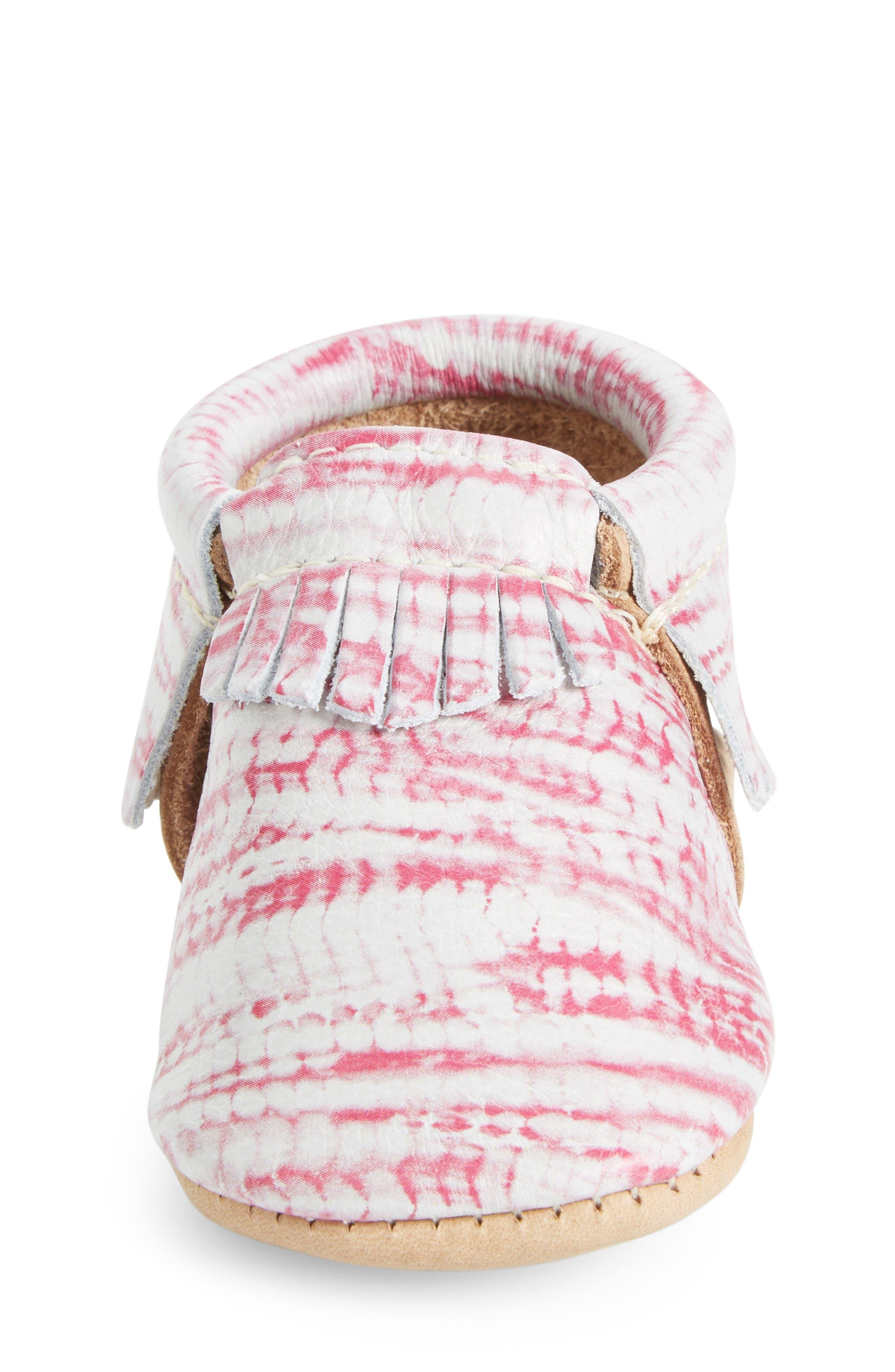 Alternate Image 4  - Freshly Picked Tie Dye Moccasin (Baby & Walker)